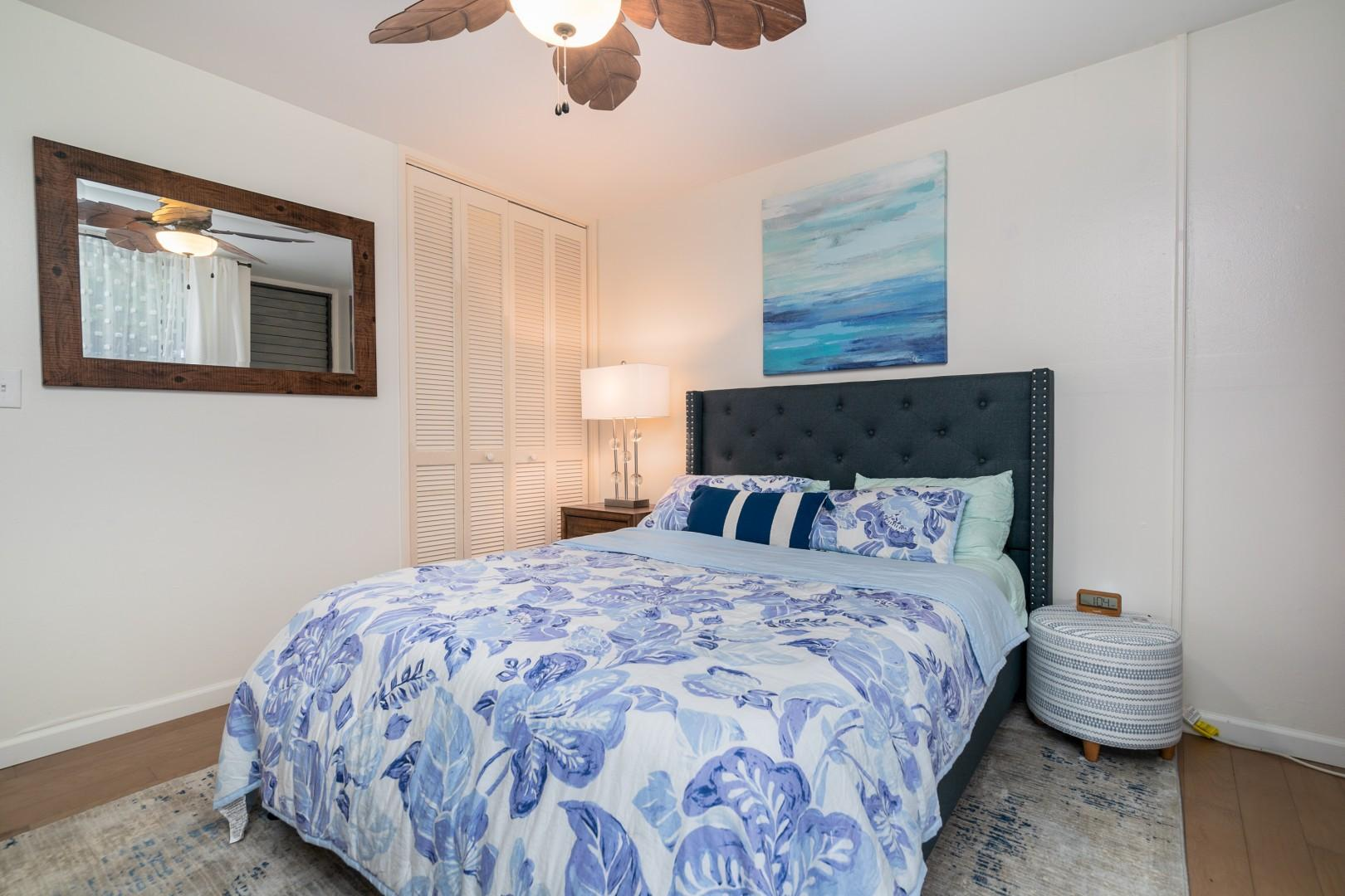 Another view of the guest bedroom