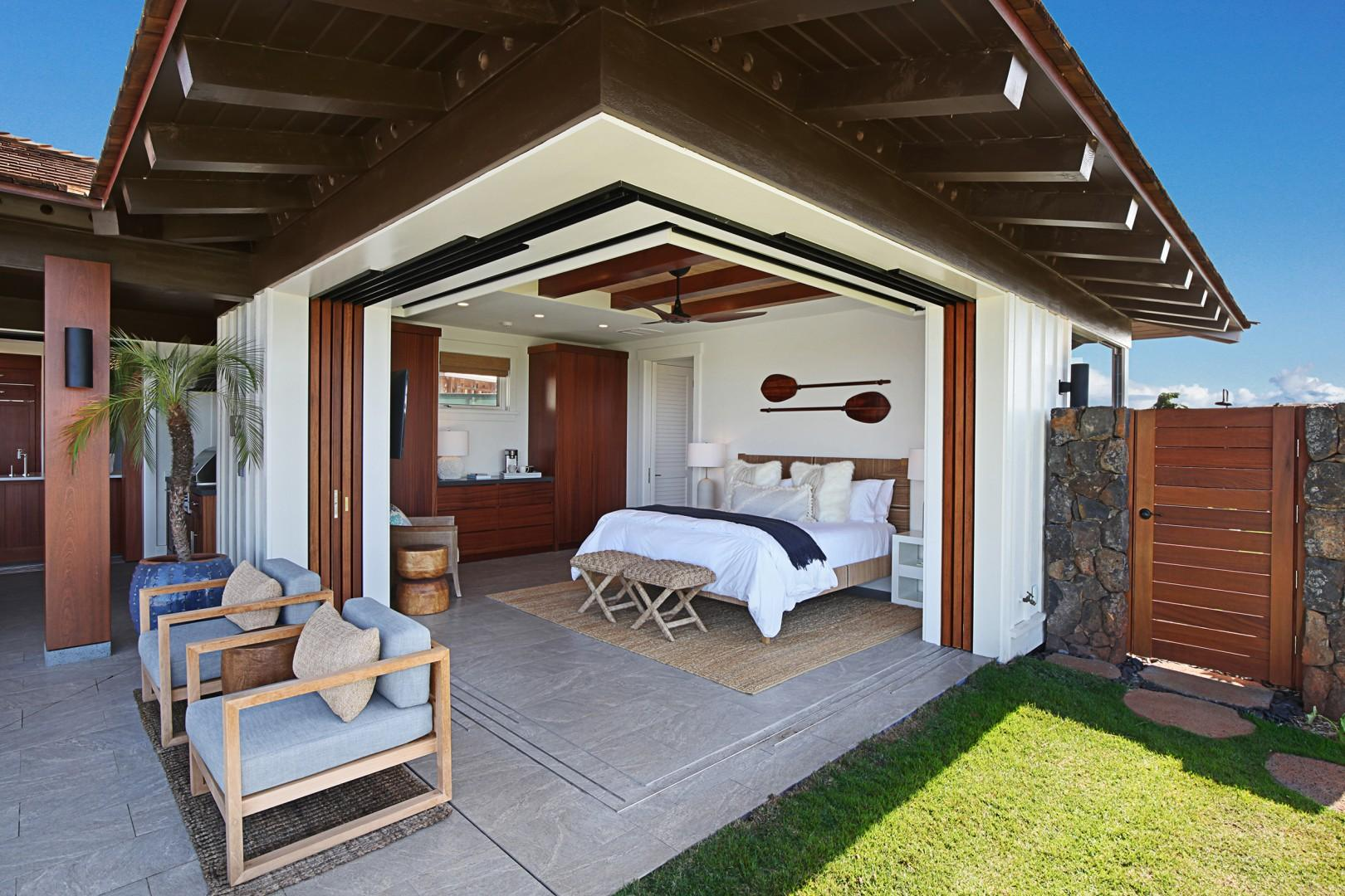 Master Suite with separate entrance and ensuite bathroom