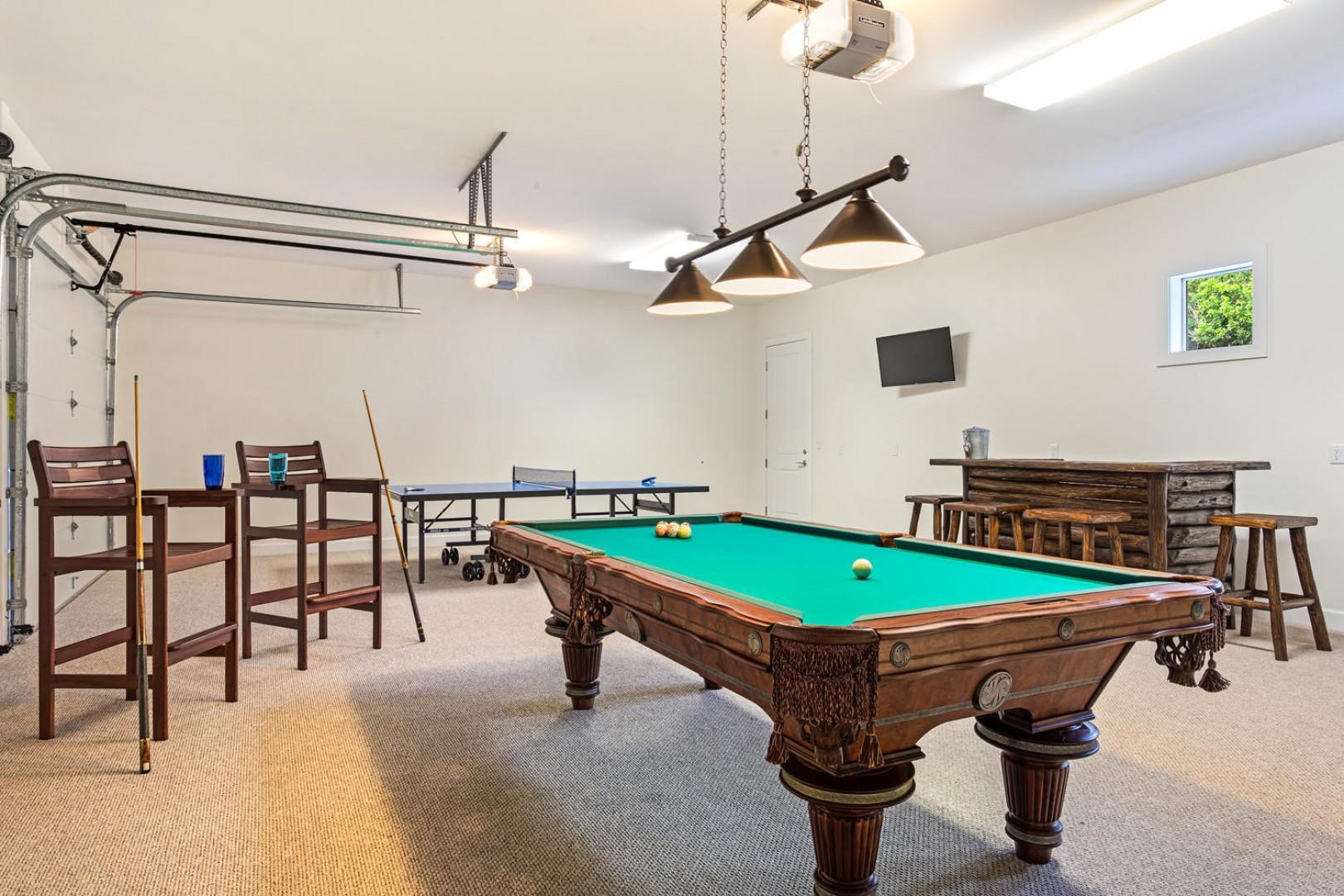 Bonus game room.
