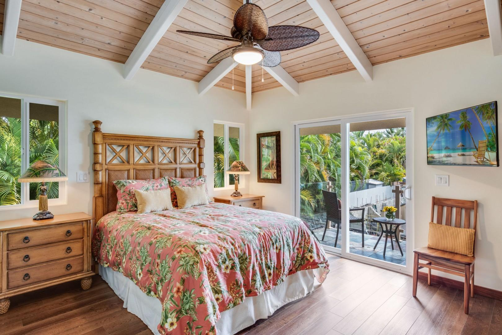 Hale Honu Master bedroom