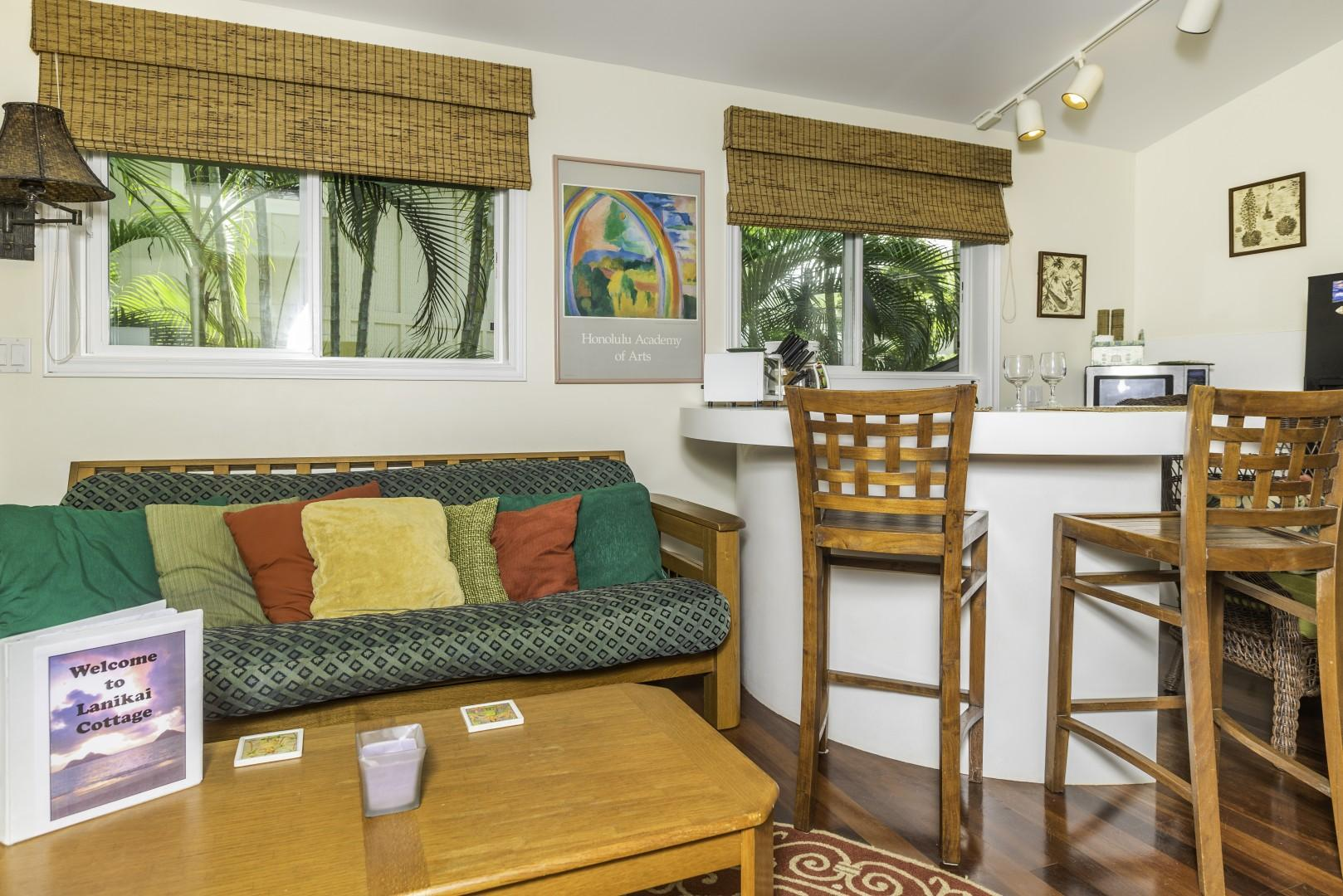 Enjoy quality time together in your island home.