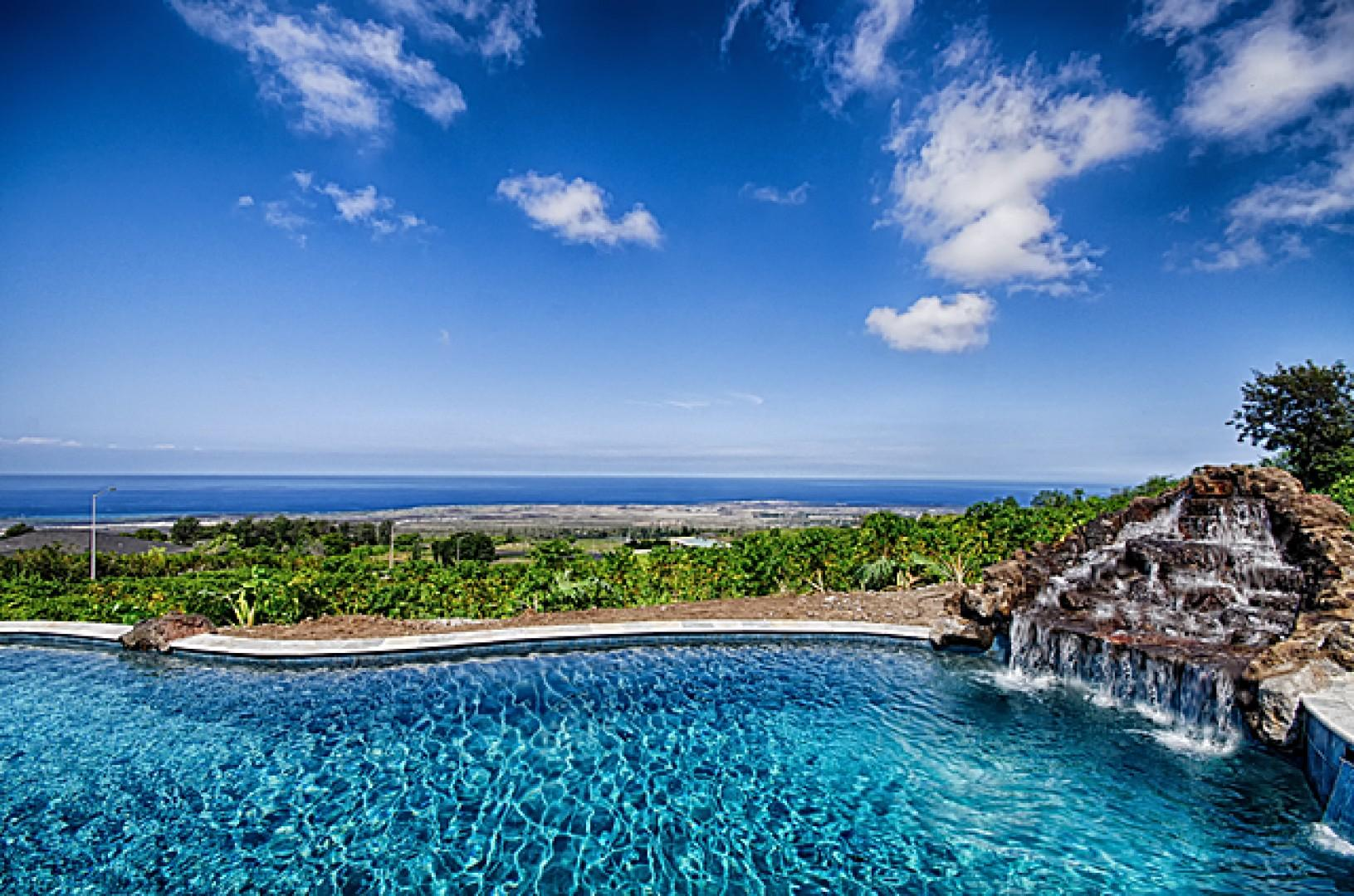 Take in the air and the panoramic views from the pool!