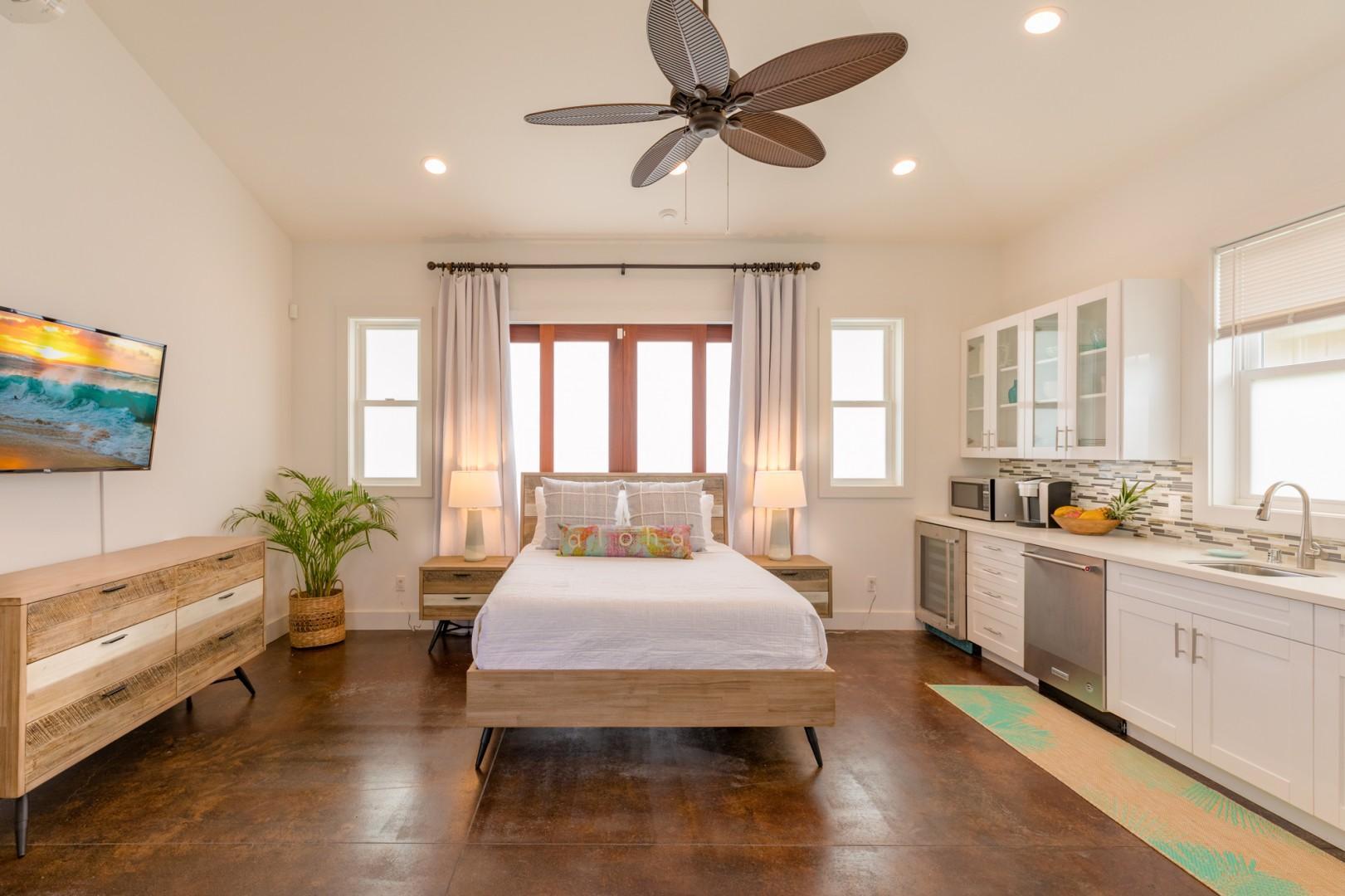 Studio Guest Bedroom