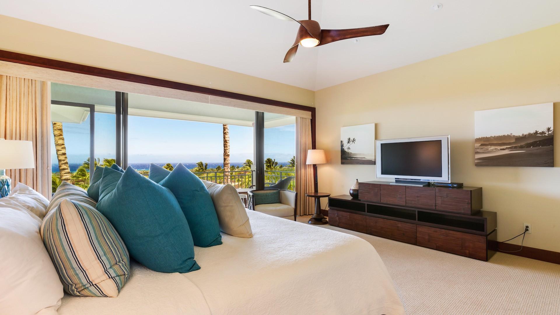 Master bedroom reverse view.