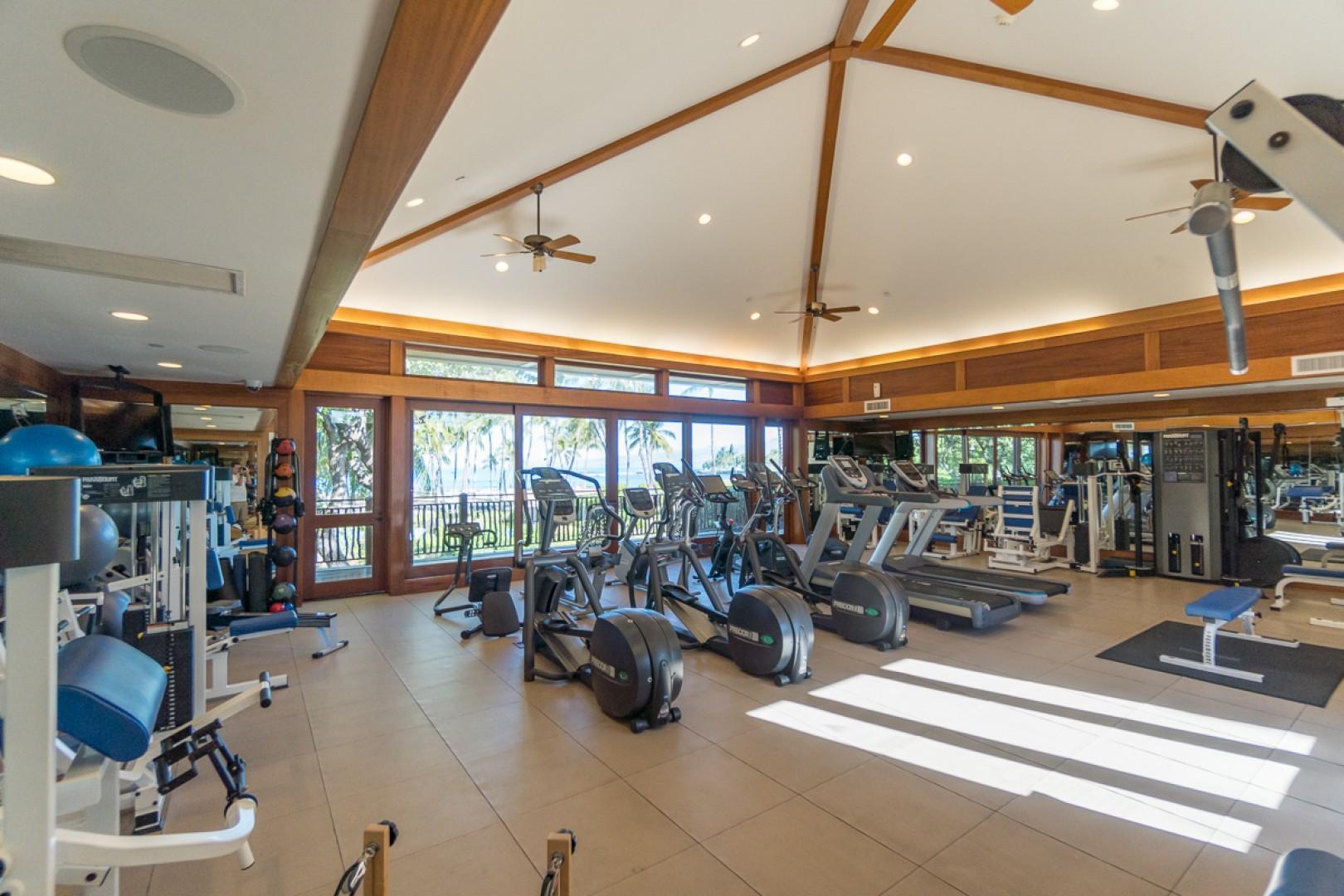 Shared fitness center