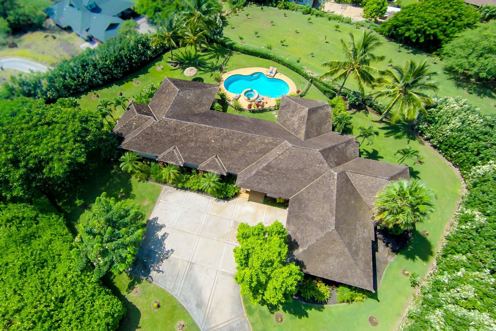 Aerial View of Makena Aloha Estate