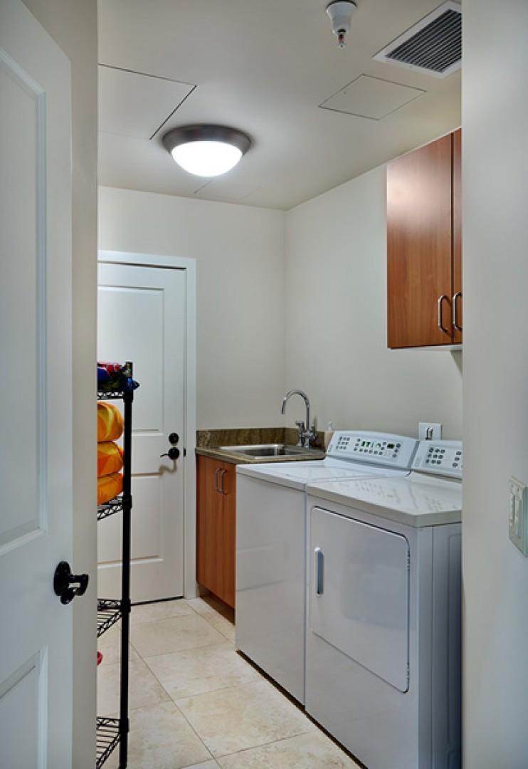 Blue Horizons K308 In-Villa Laundry Room with abundant supplies