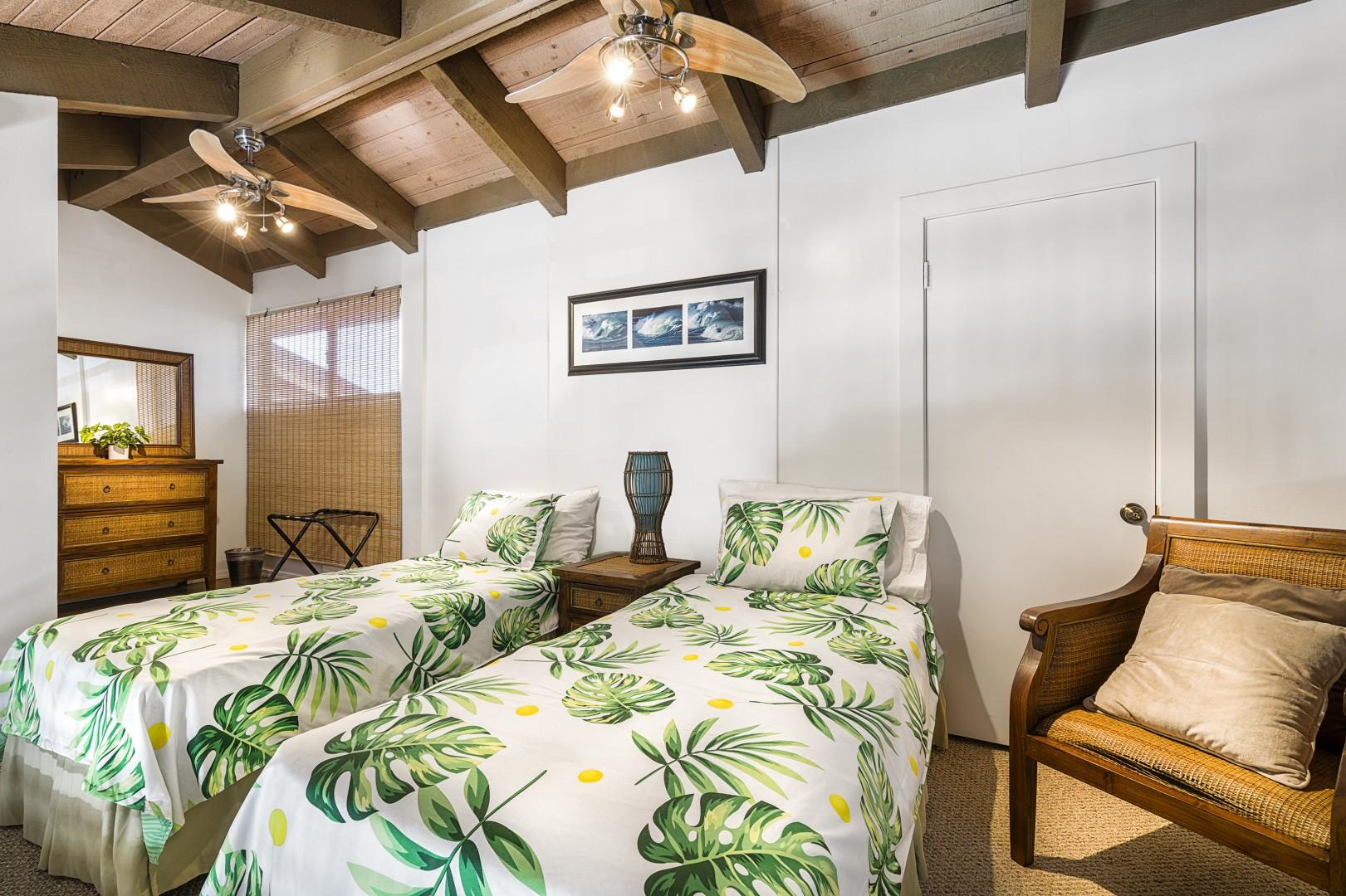 Loft, equipped with 2 Twin beds