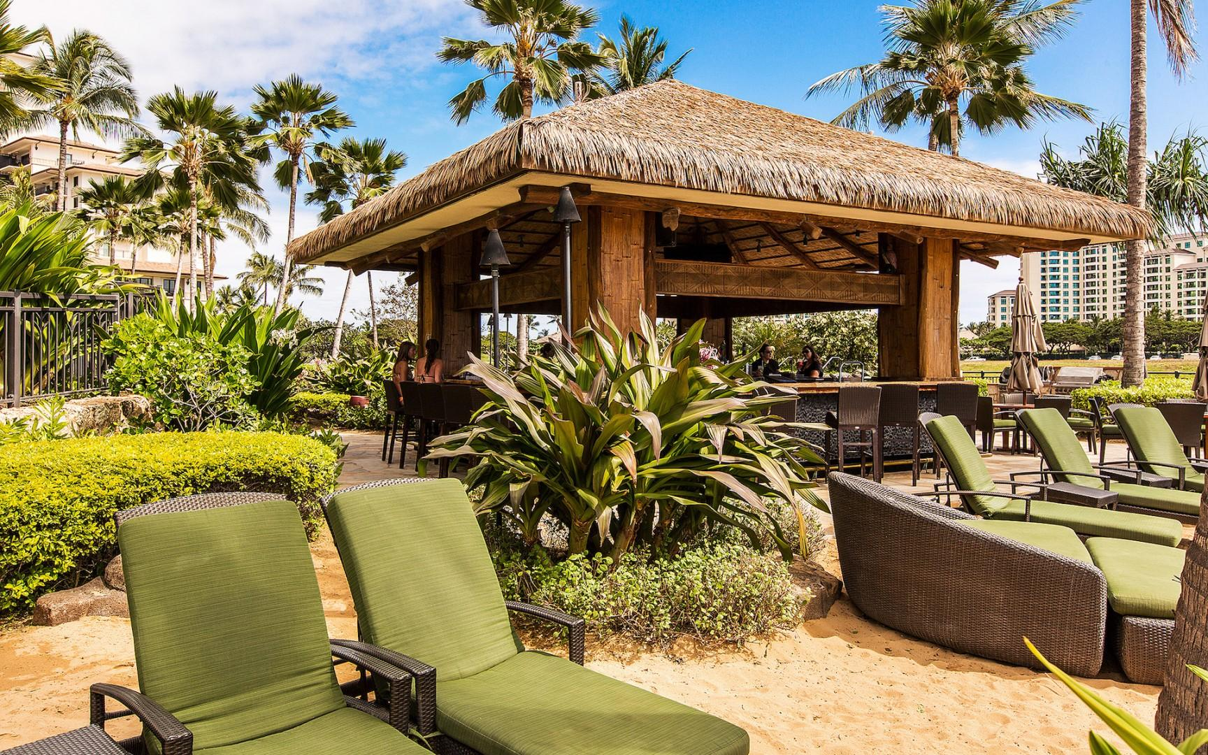 Oceanfront Beach Bar with live music several nights each week