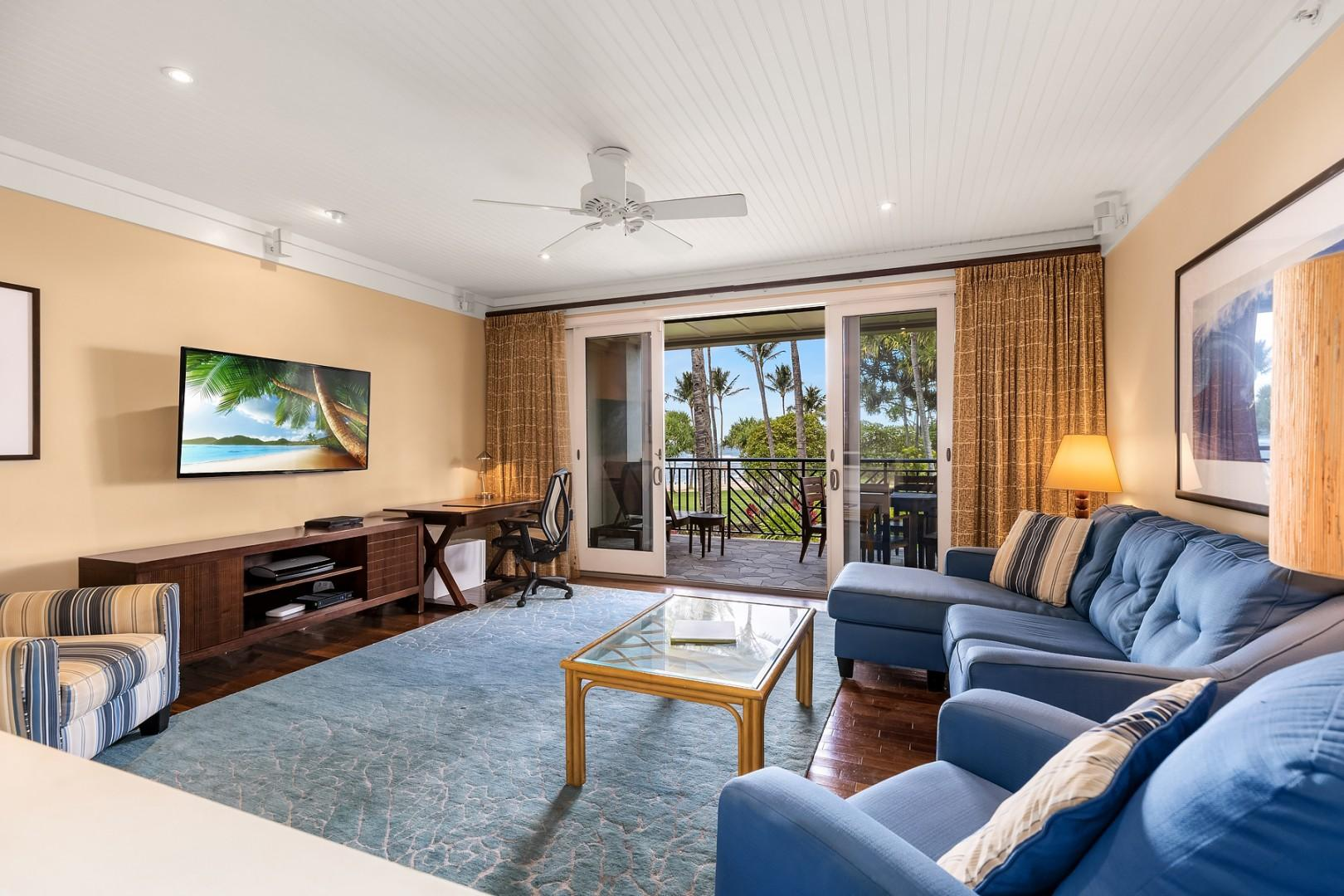 Villa 206: Living room