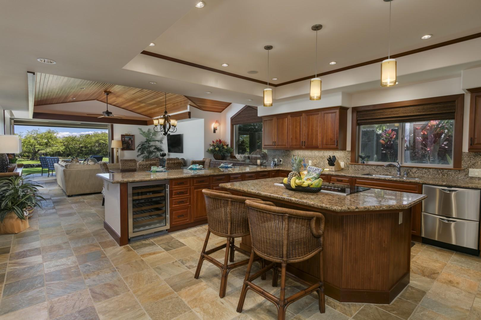 Gourmet Kitchen with everything you need!