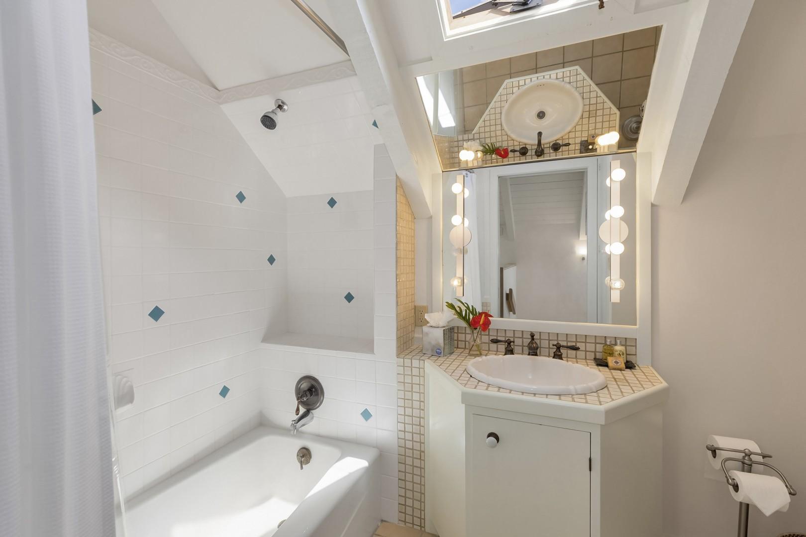 Ensuite Bathroom to Upstairs Loft Bedroom