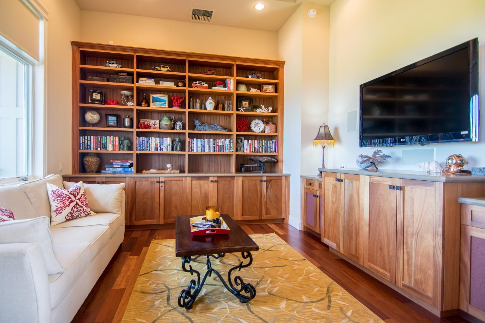 Library/Fourth Bedroom with a Queen Size Sleeper Sofa
