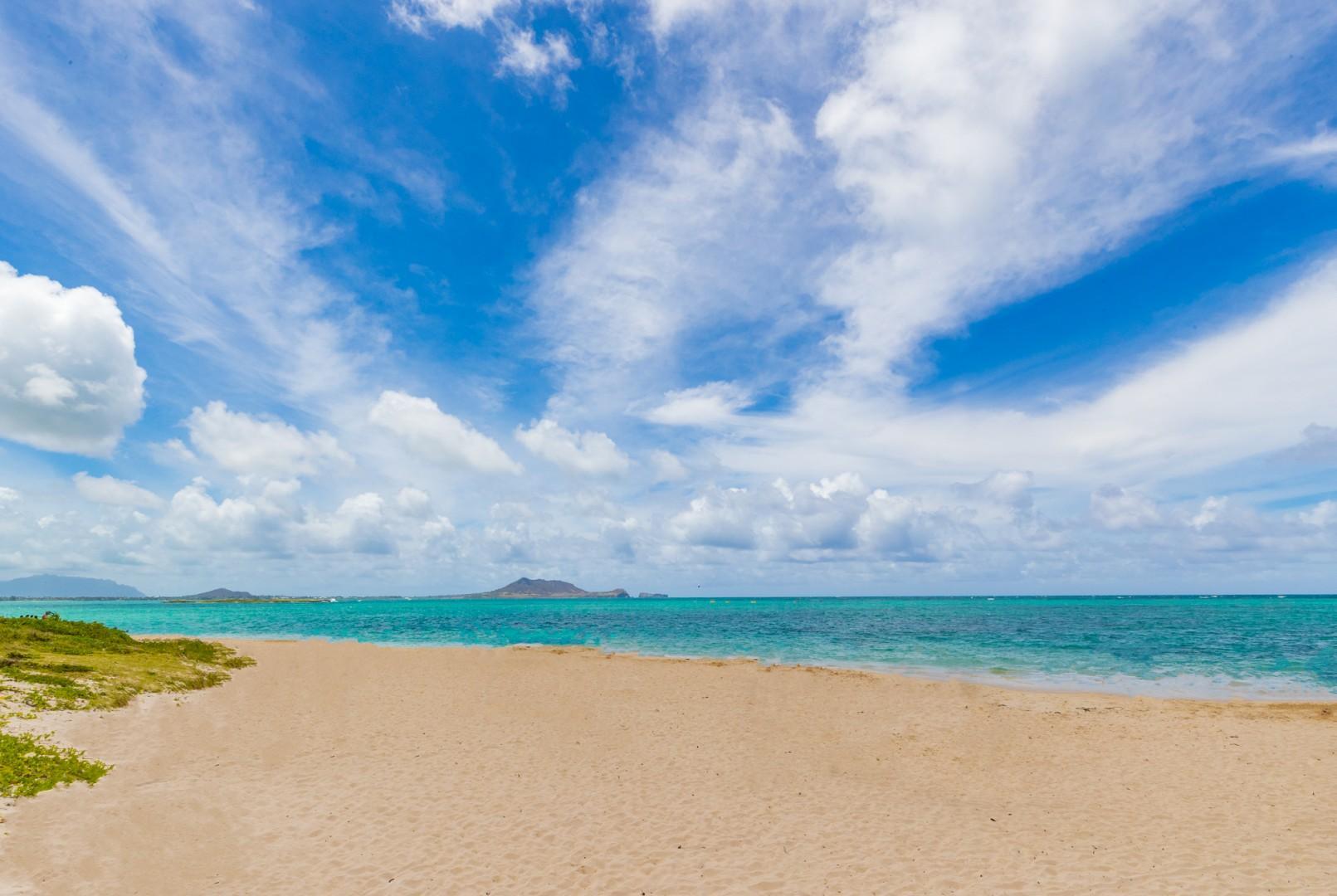 Beautiful Lanikai Beach