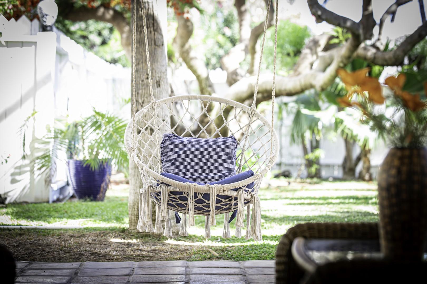 Boho Backyard Swing
