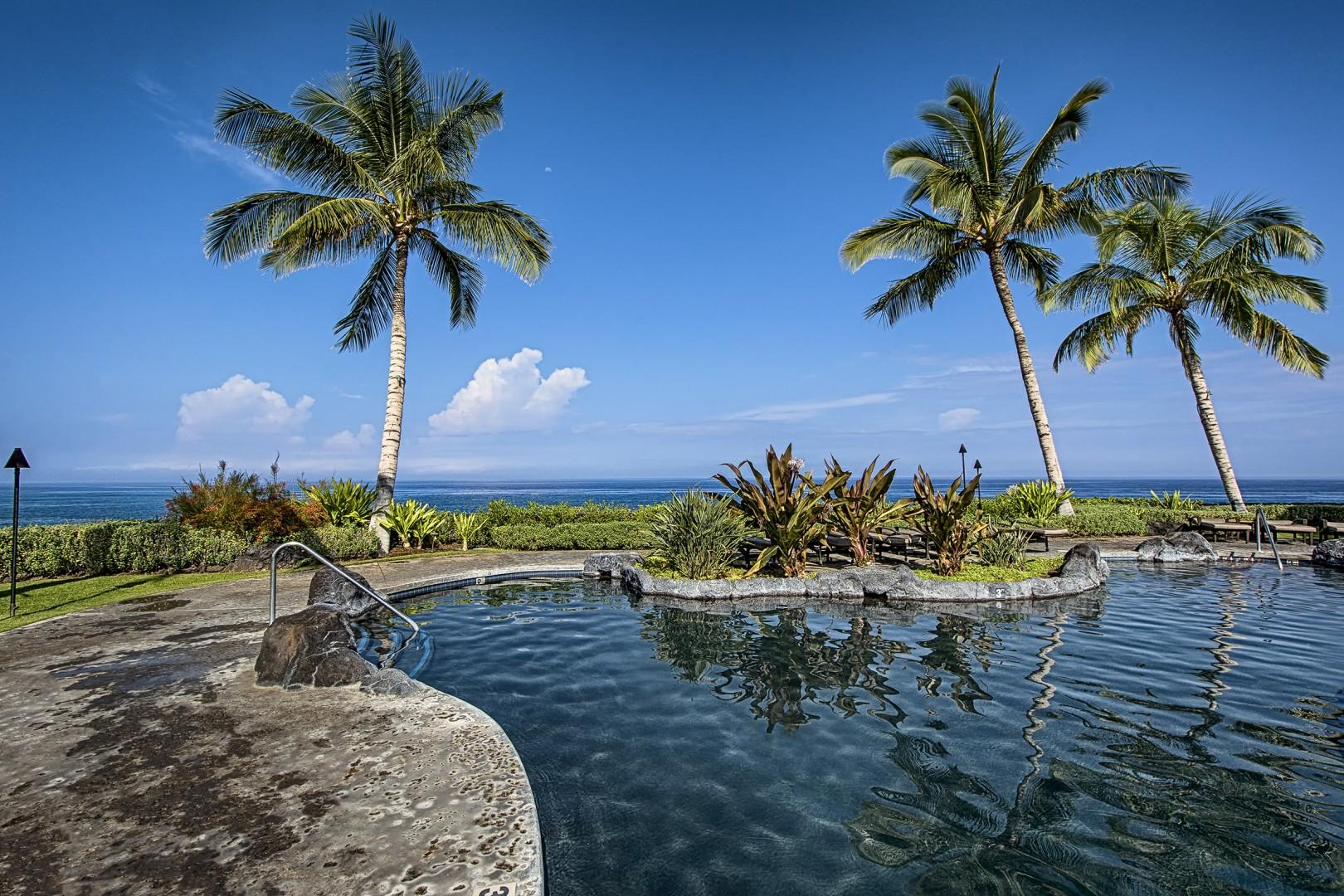Beautiful nearby pool at the Hali'i Kai.