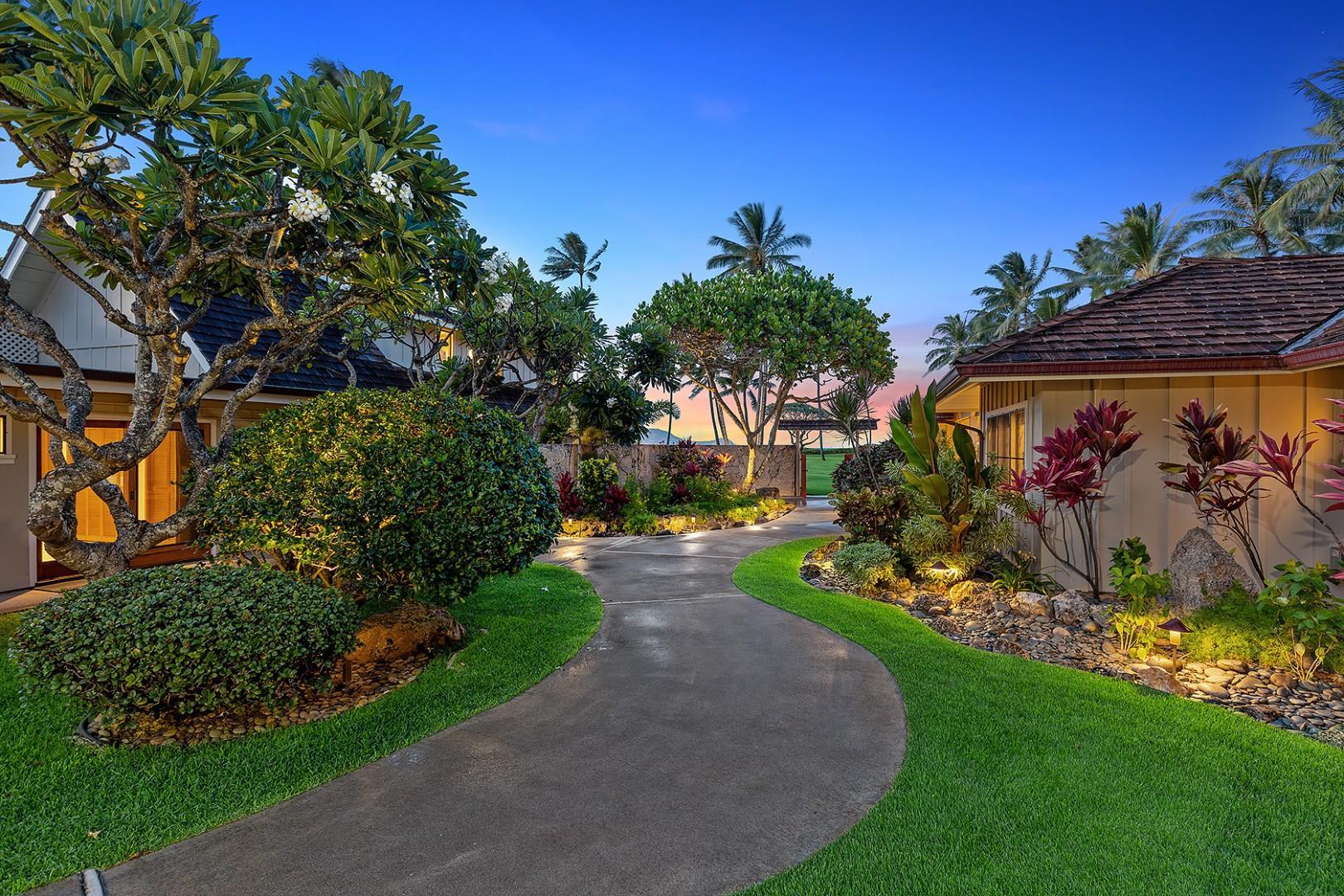 Twilight Tropical Gardens