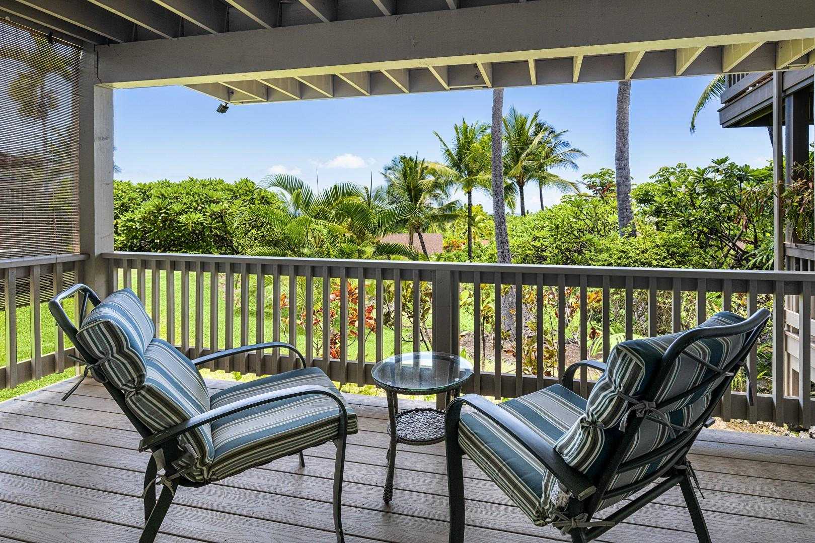 Private Lanai outside the bedroom