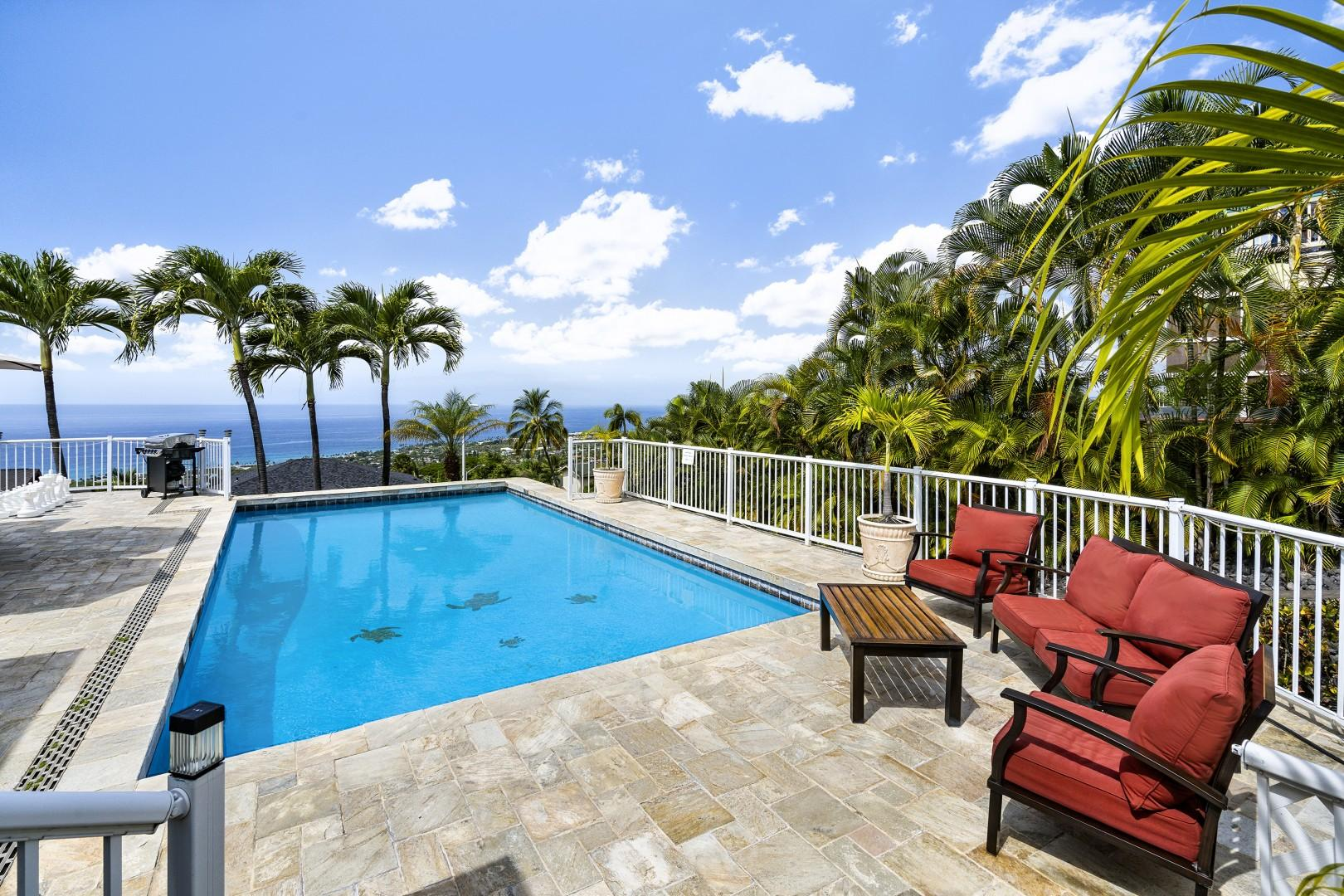 Honu Hale provides the perfect setting for a Hawaiian Vacation!