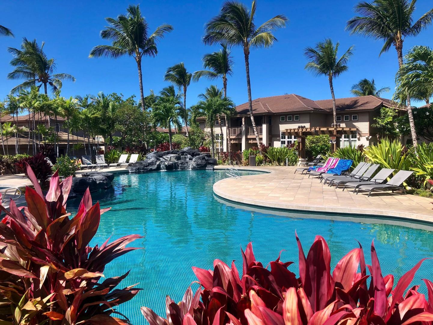 Waikoloa Colony Villas Offers Two Gorgeous Free-From Pools to Choose From