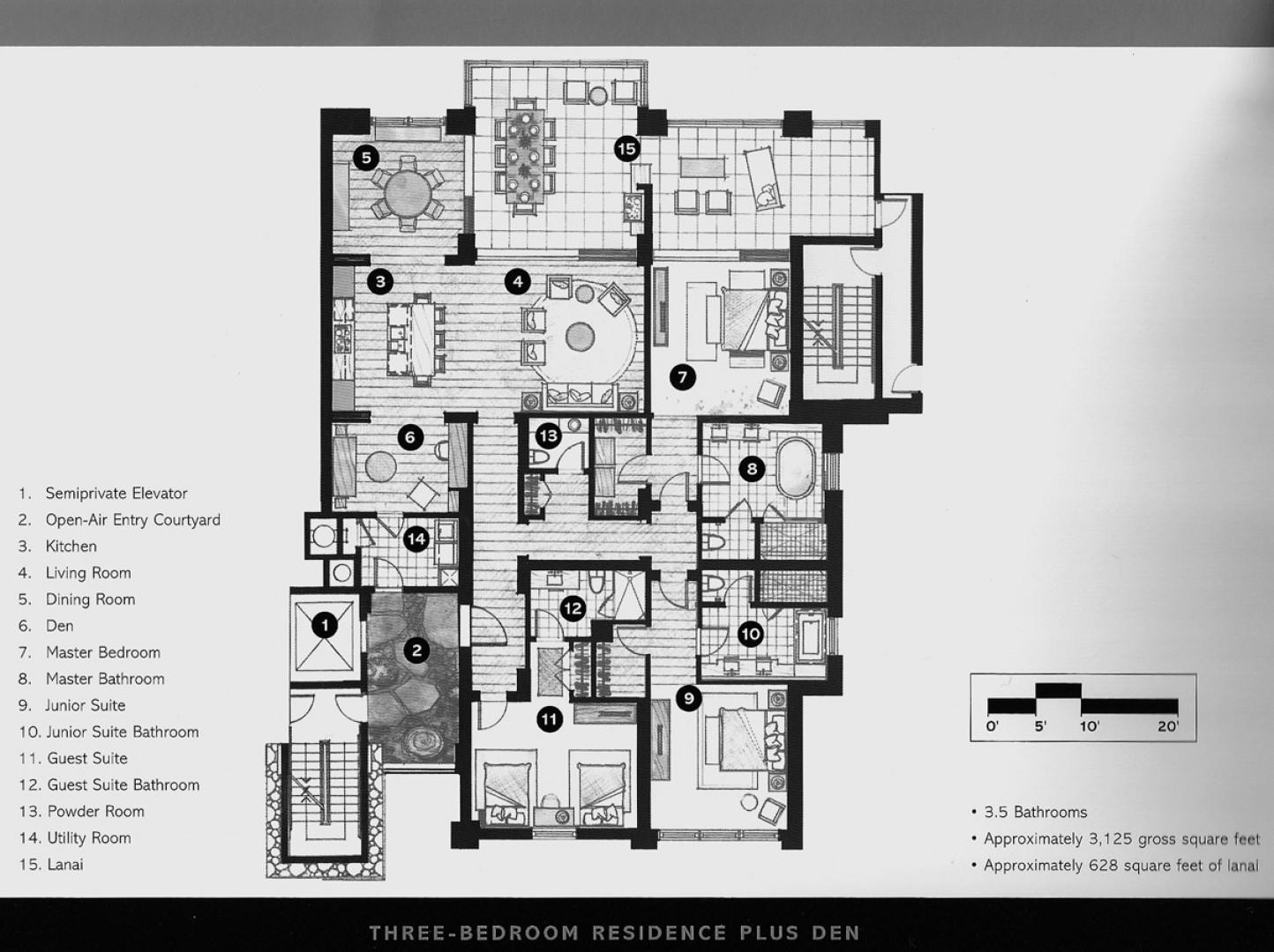 Sea Mist 2403 Floor Plan