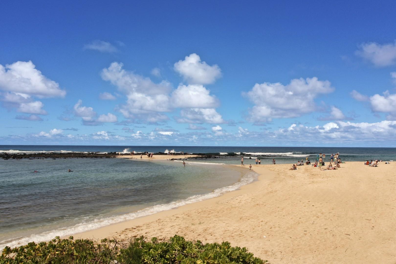 Brennecke's Beach