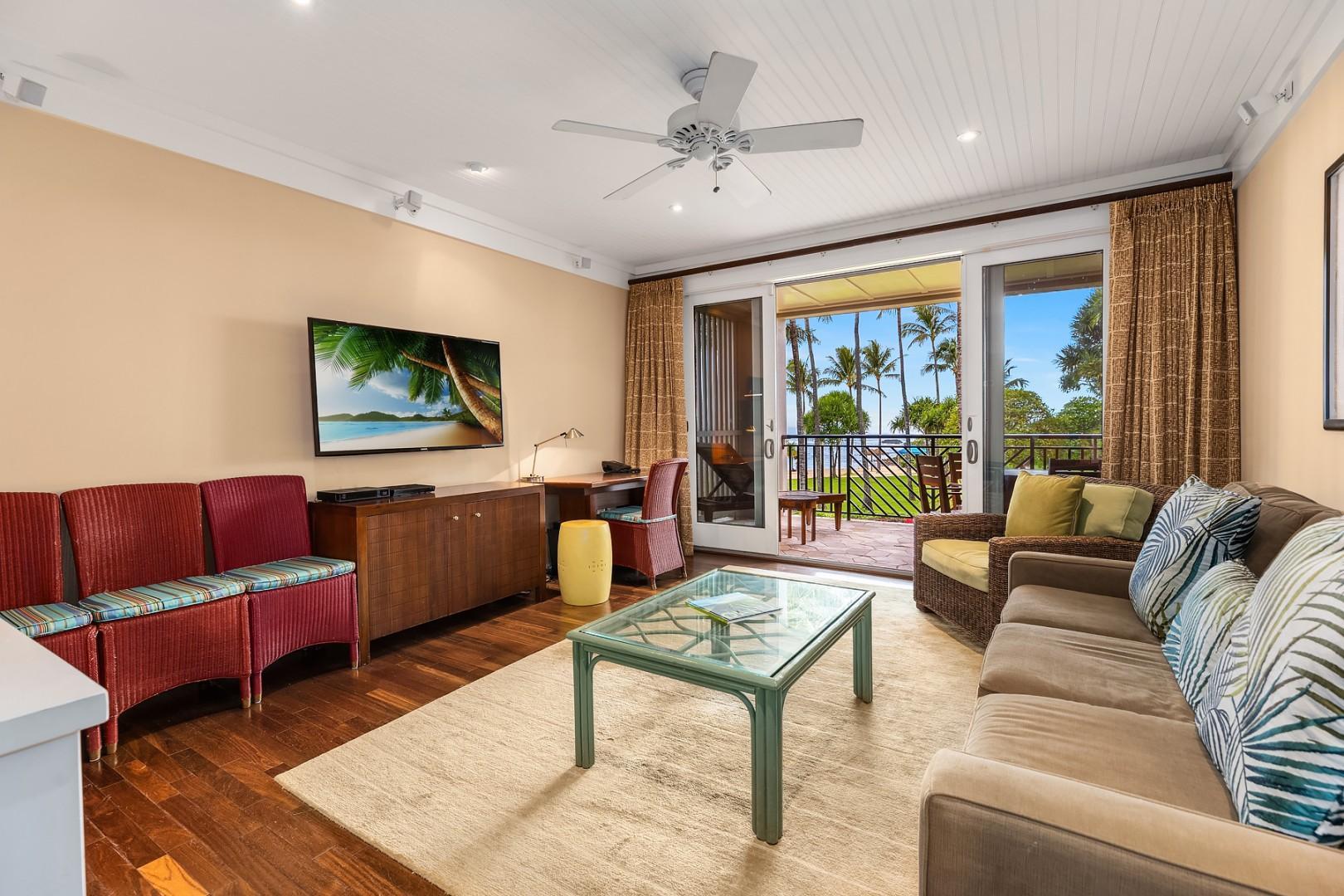 Villa 205: Living room