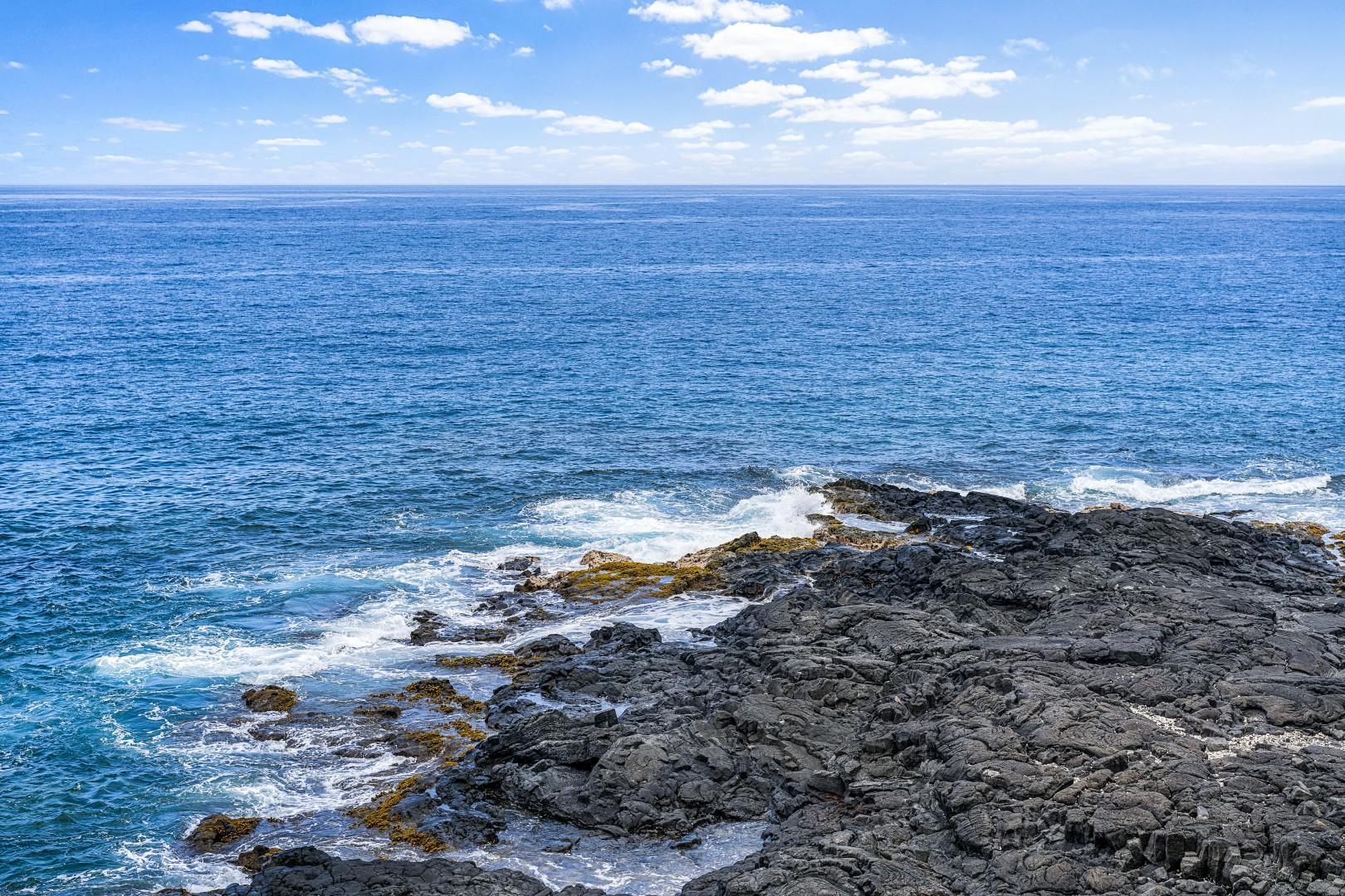 Ocean view from Lanai!