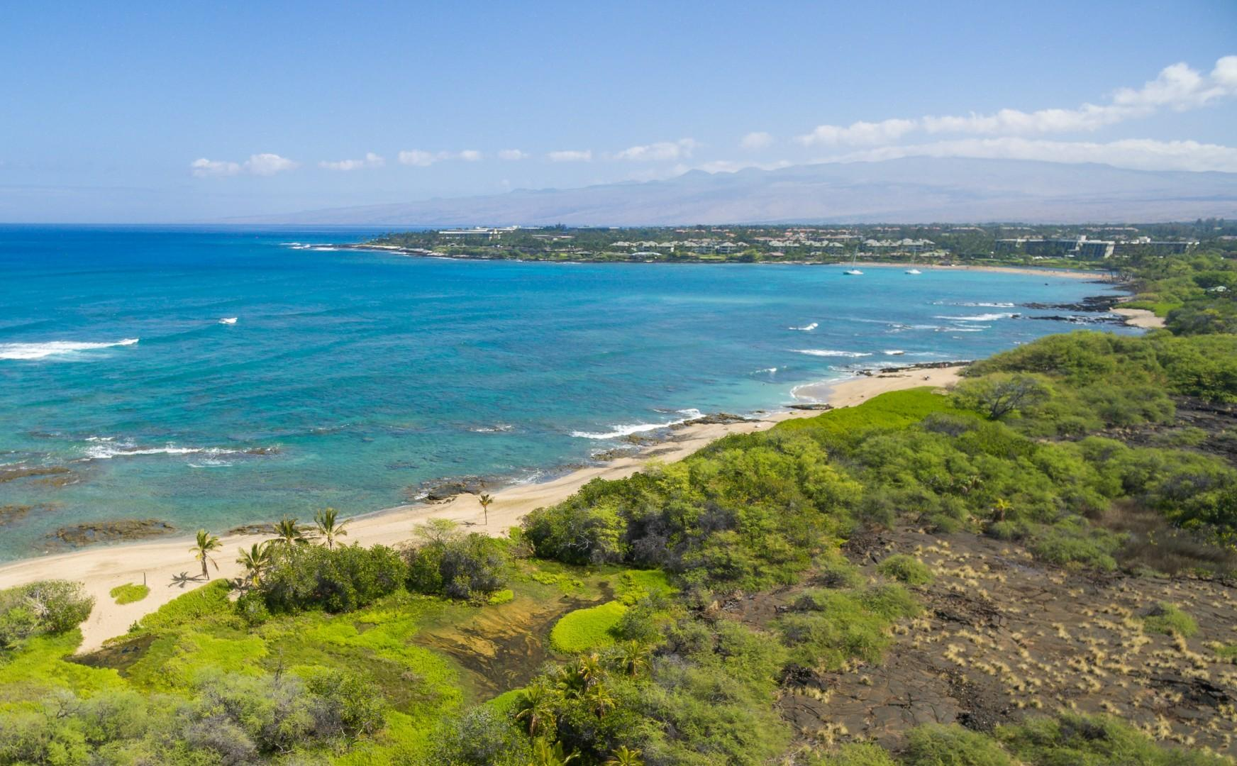 Take a hike from the resort along the Kings trail for miles passing the Hilton resort and many scenic areas.