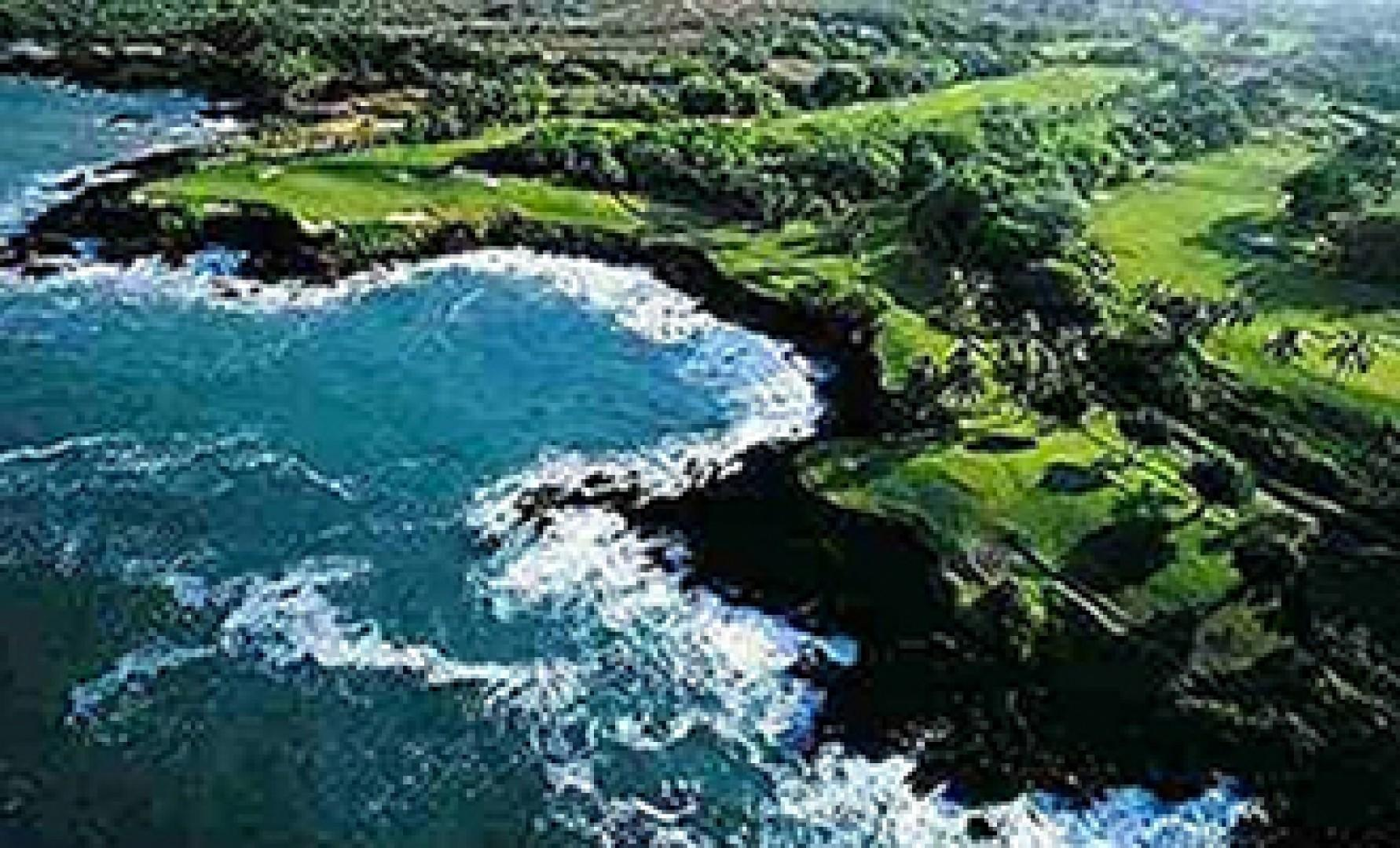 Worlds Finest golf course at Mauna Kea.