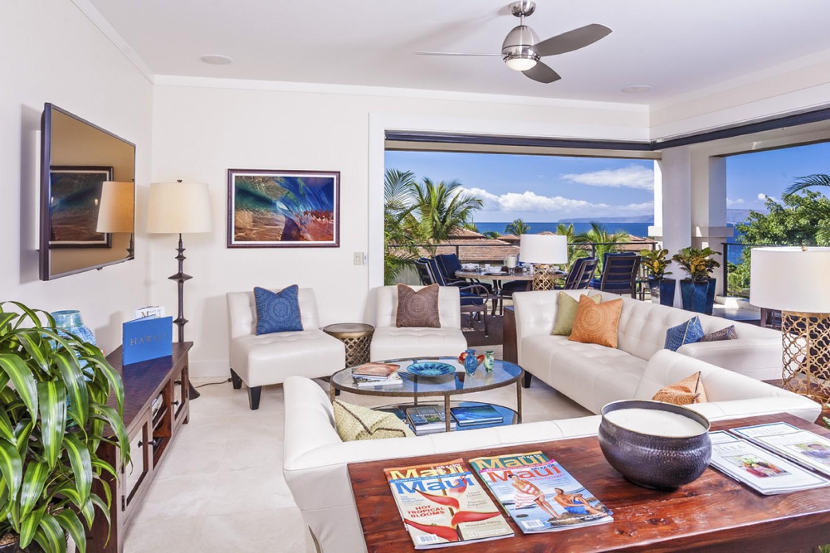 Great room with beautiful ocean views, 60