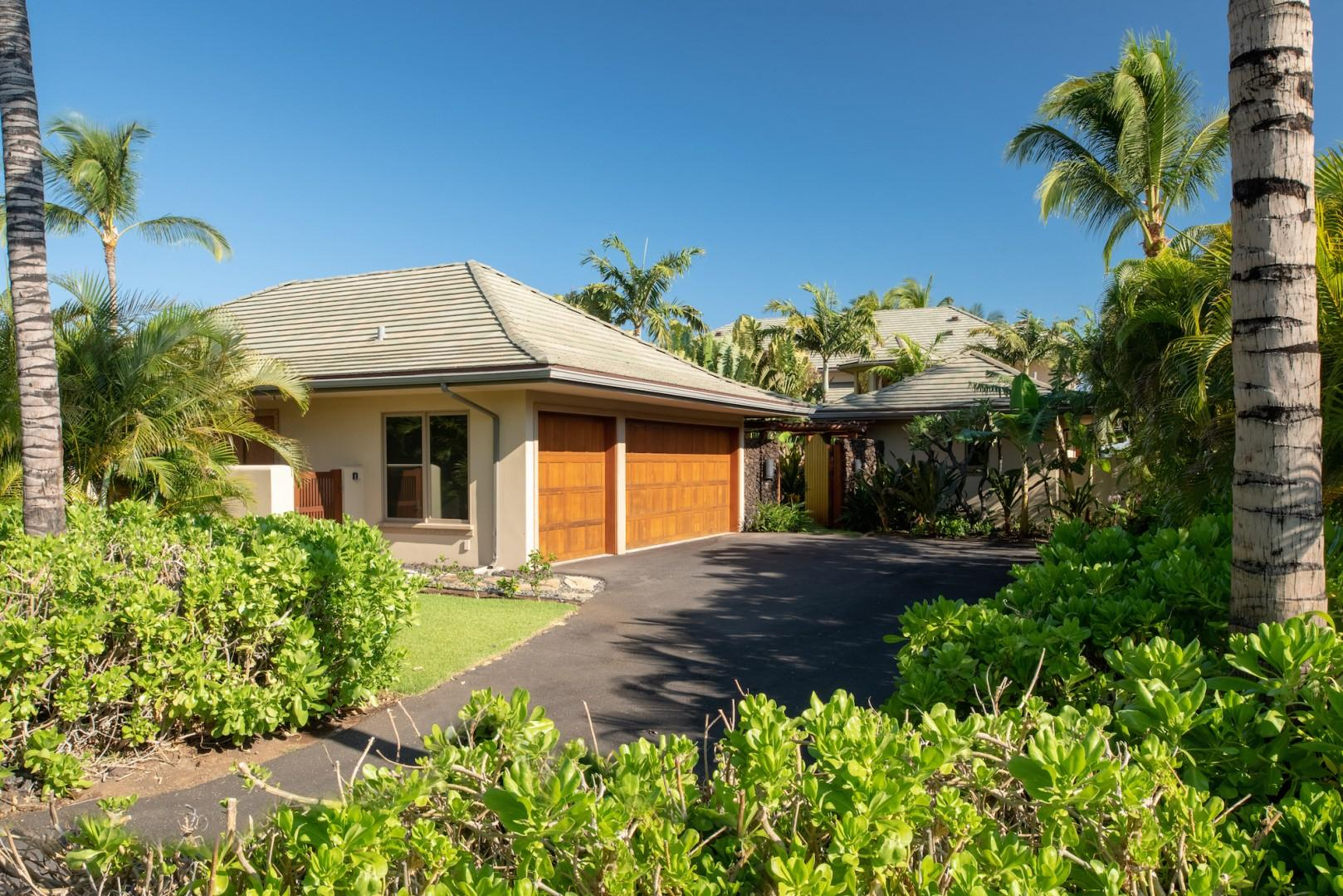 Ample Private Parking in the Home's Driveway and Garage