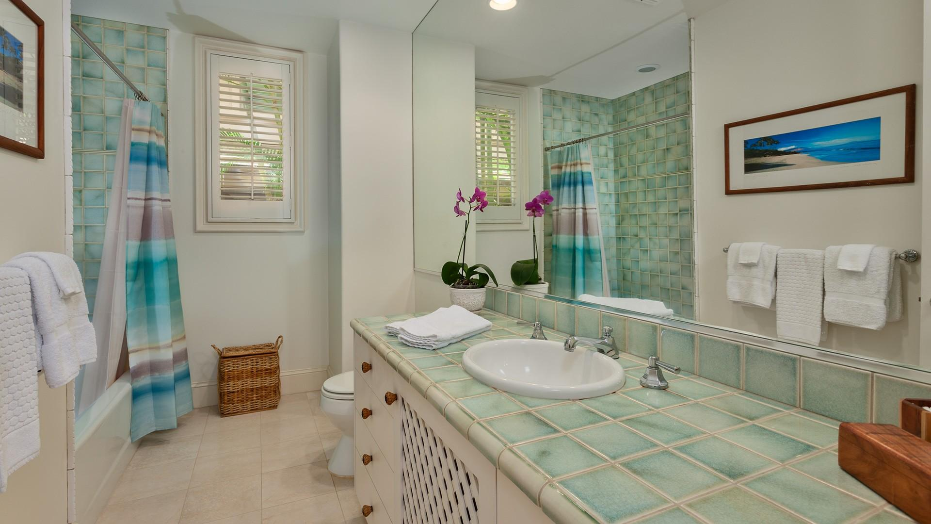A lovely third bathroom ensures that everyone enjoys the convenience of en suite living.