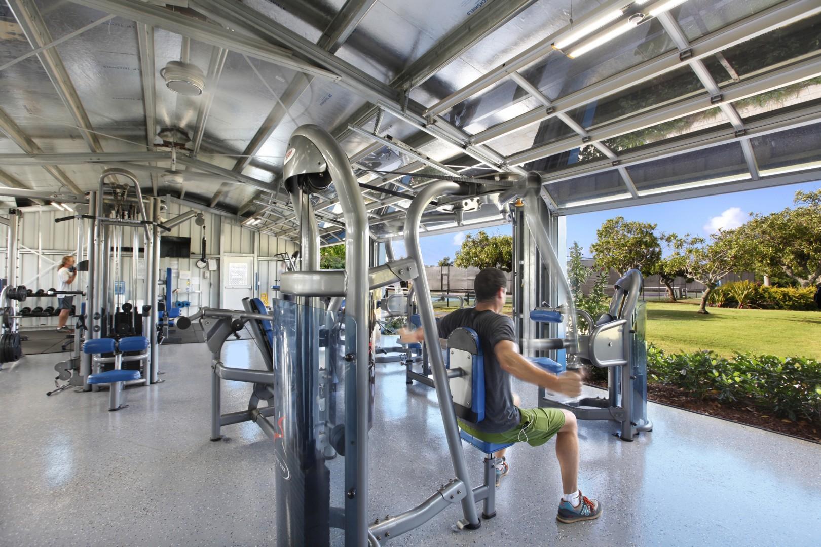 Poipu Beach Athletic Club gym