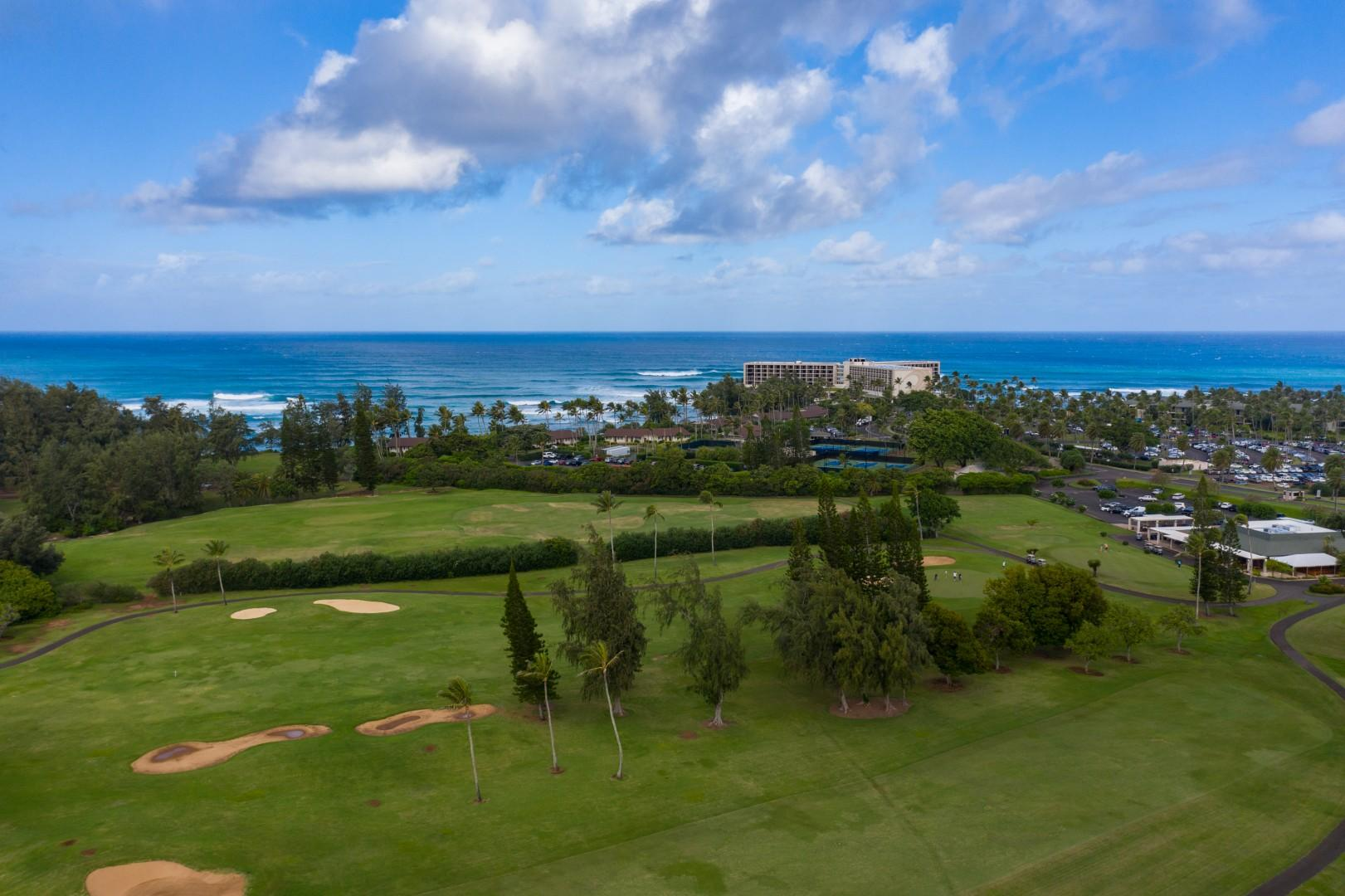 Easy access to golf and beaches