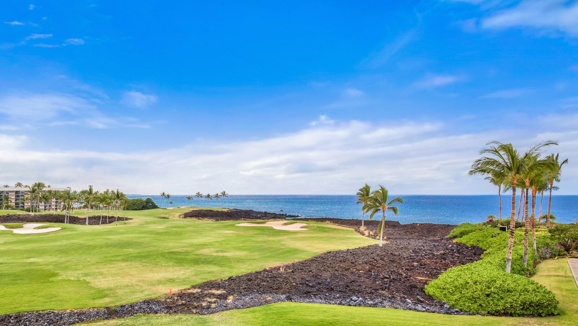 Picture yourself here! Actual view from YOUR lanai!