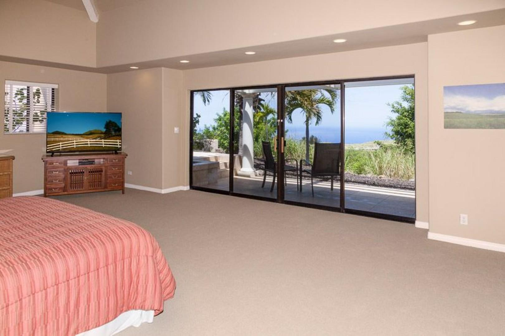 North Master has beautiful Ocean views and plenty of space