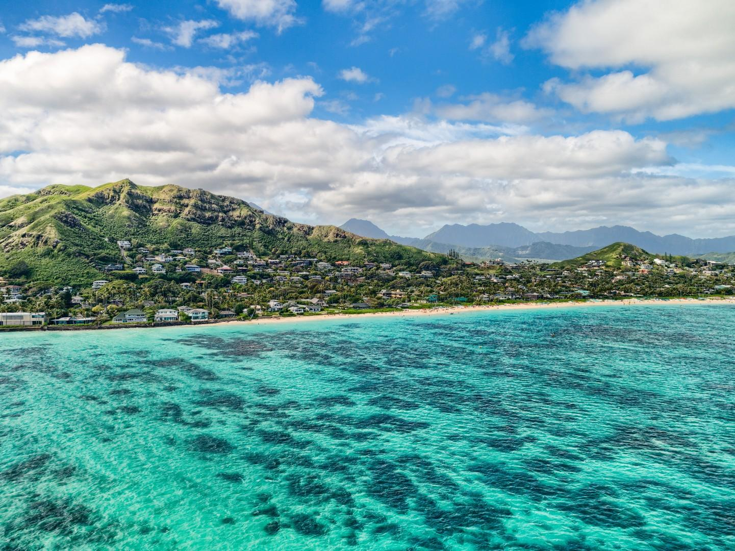 Go kayaking or stand-up paddle boarding through the crystal clear waters of Lanikai.