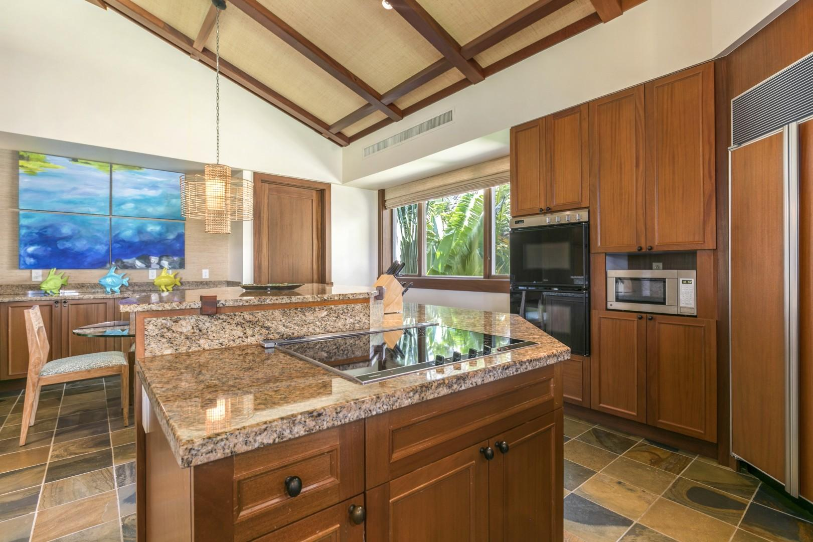 Cooking Island, Top Tier Appliances, and Stocked with Everything You'll Need.