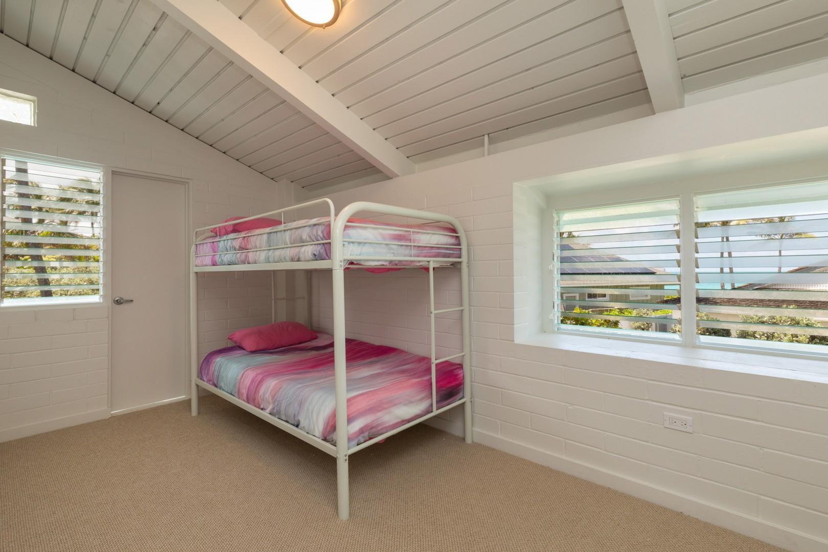 Kids bedroom on second floor