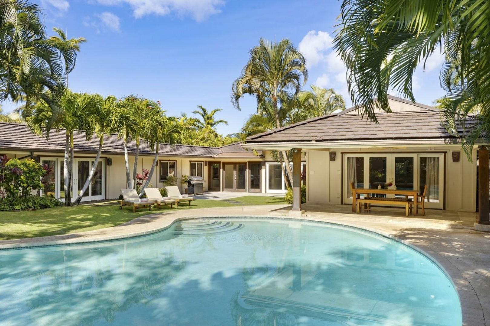 Lanai/terrace/pool.
