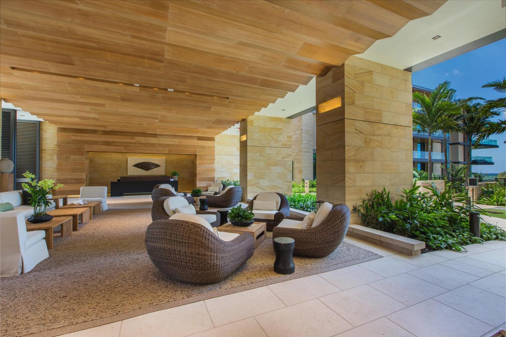 Grand Open-Air Lobby