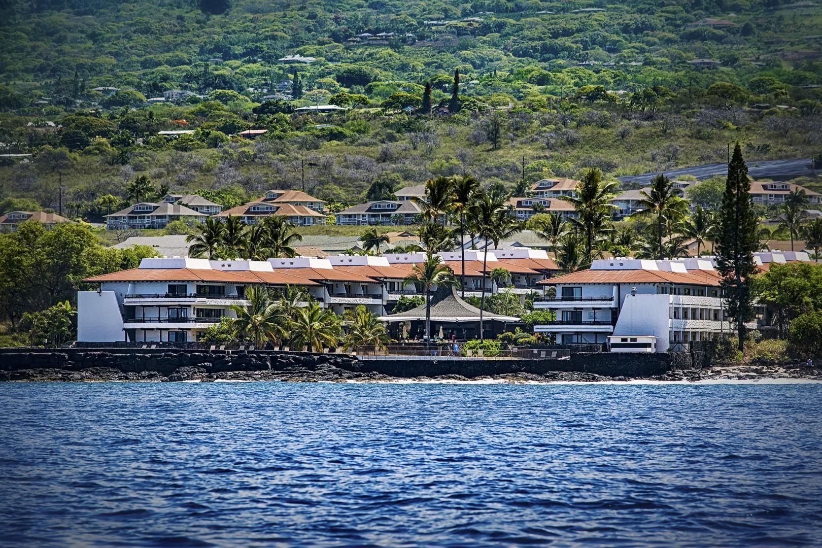 Views of Casa De Emdeko from the Ocean!