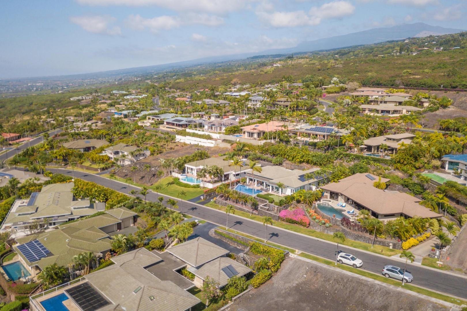 Views facing towards Hualalai