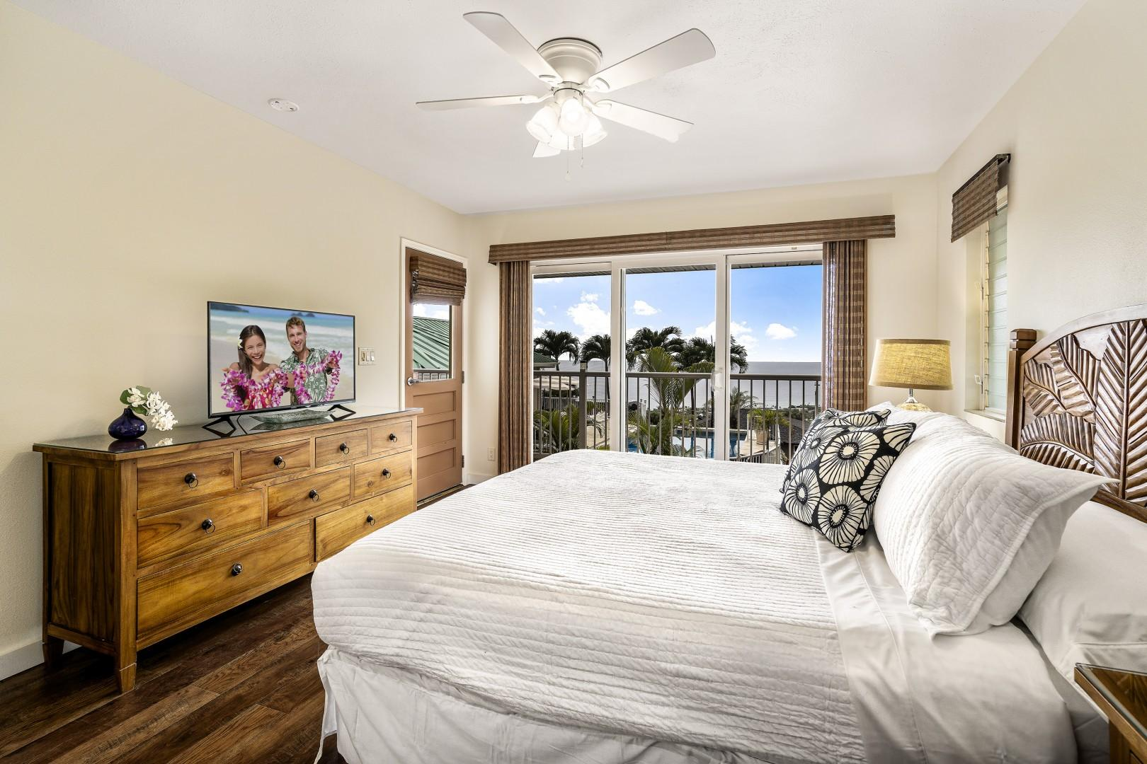 Wake up each morning to the views of paradise!