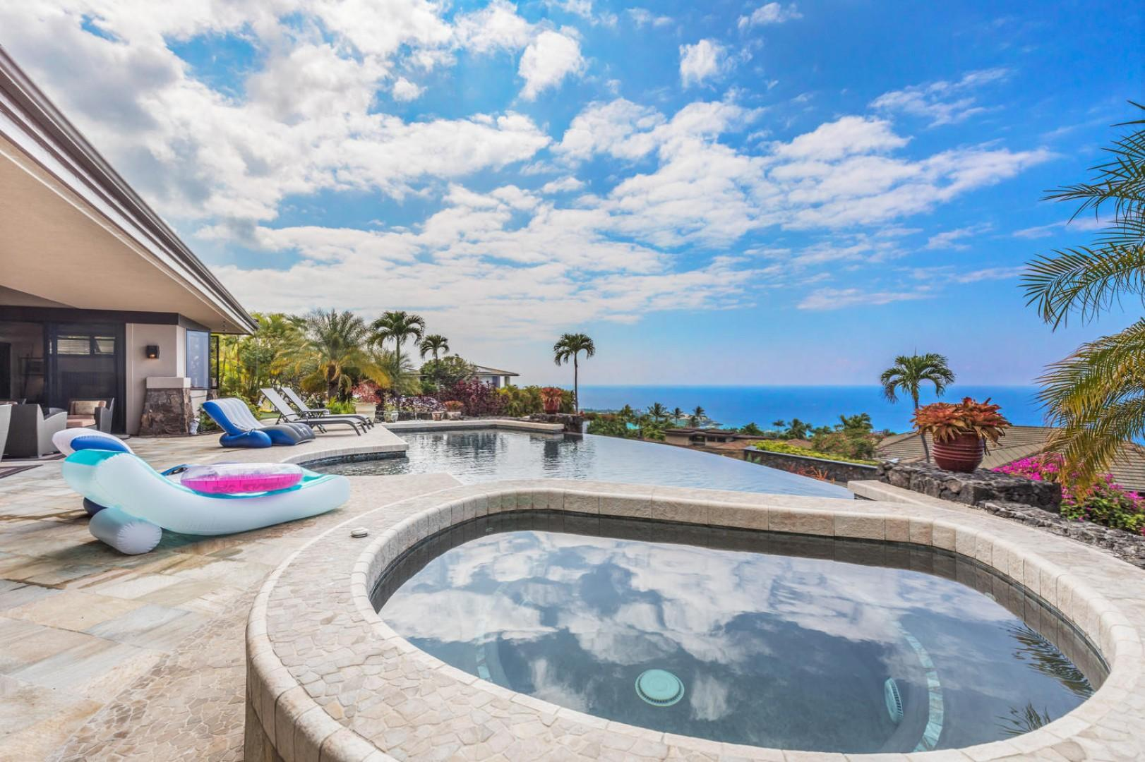 Sit Pool side and take in all that Island Oasis has to offer
