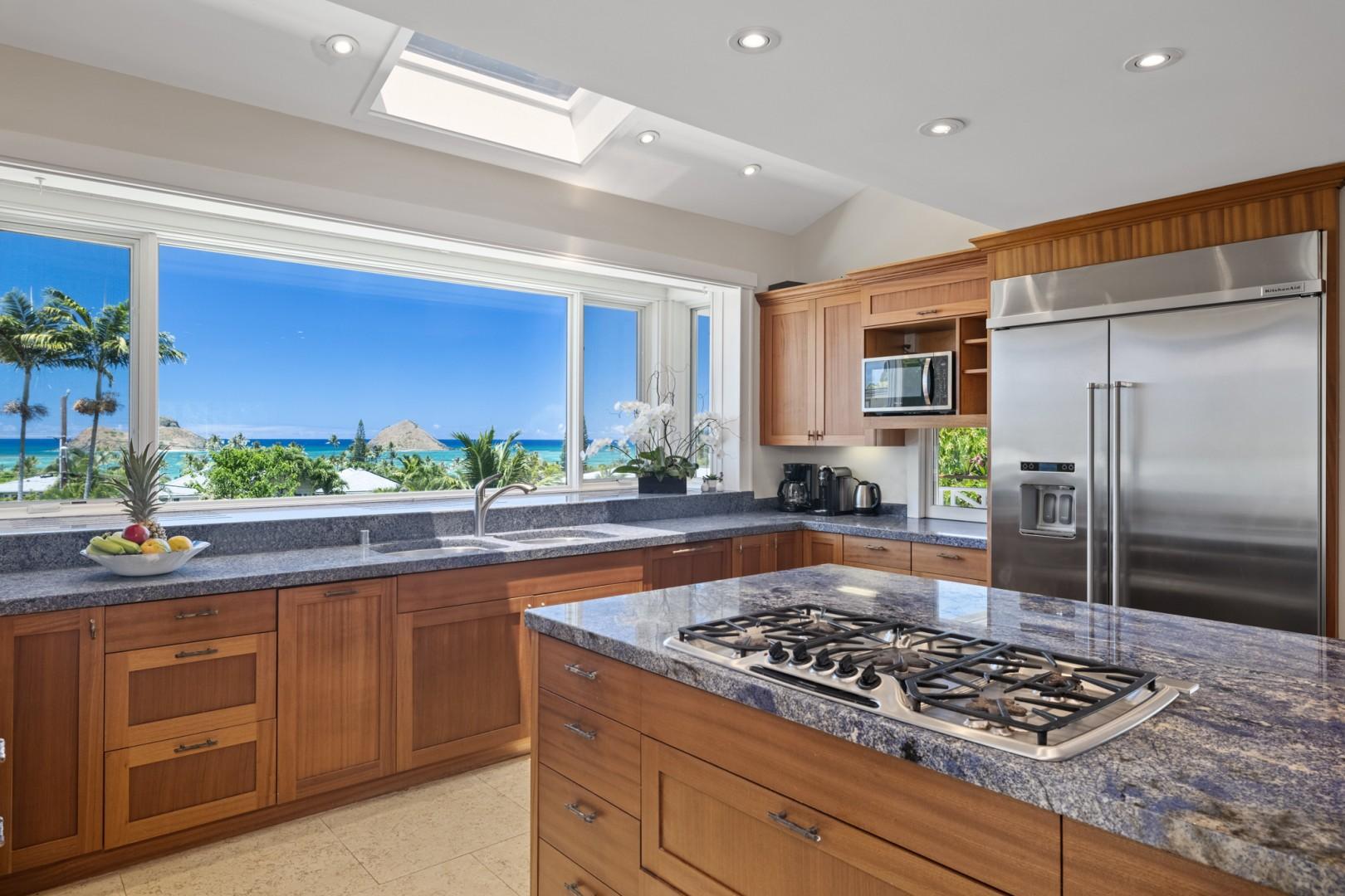 Kitchen Ocean View