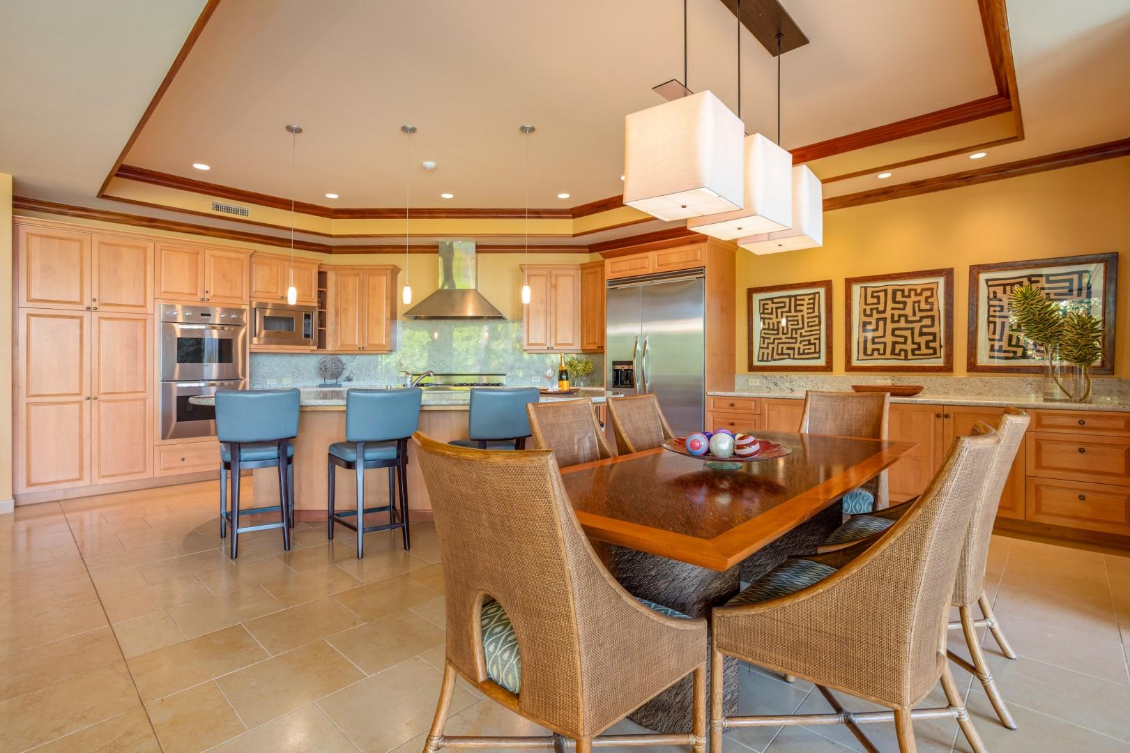 Dining Room seating for the whole family
