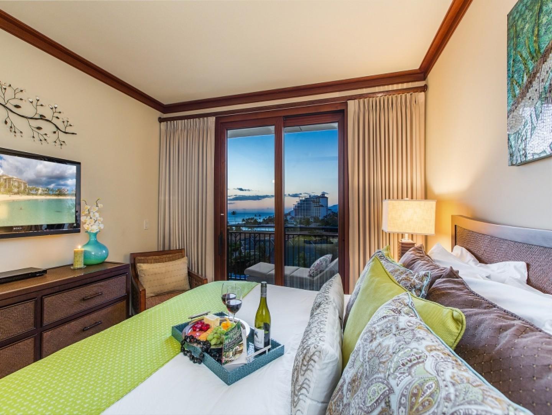 Master suite lanai view