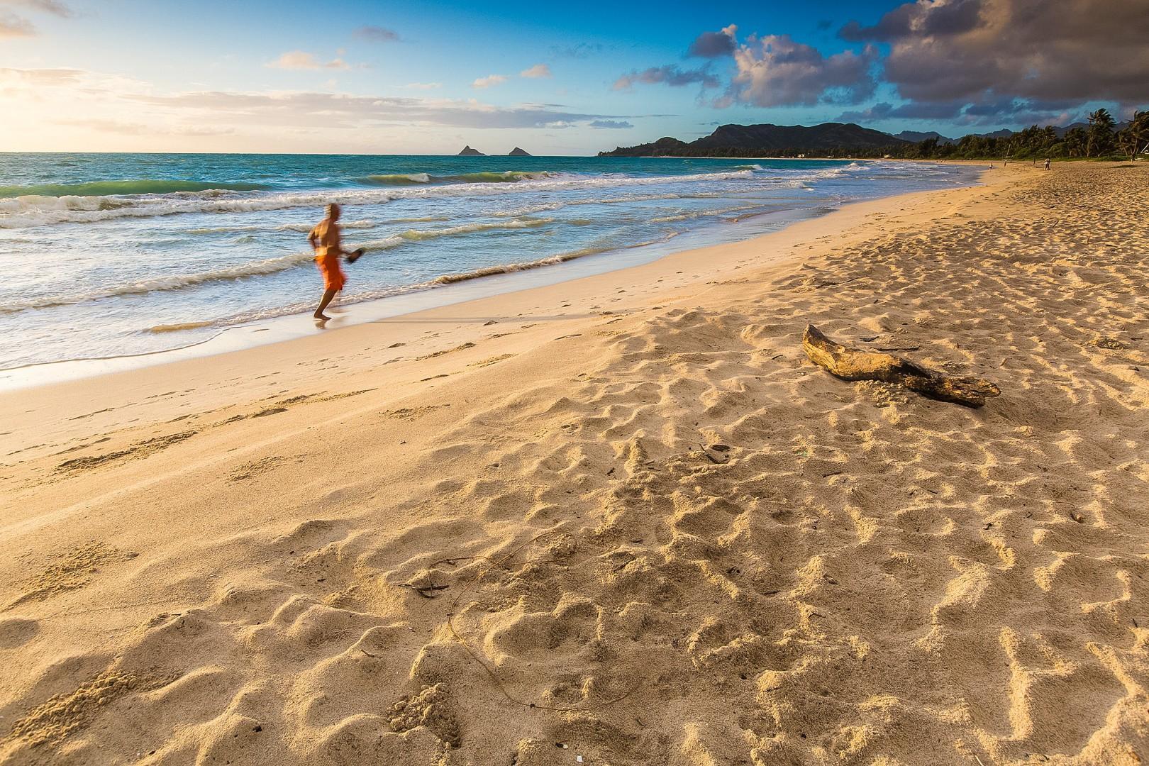 Nearby Kailua Beach.